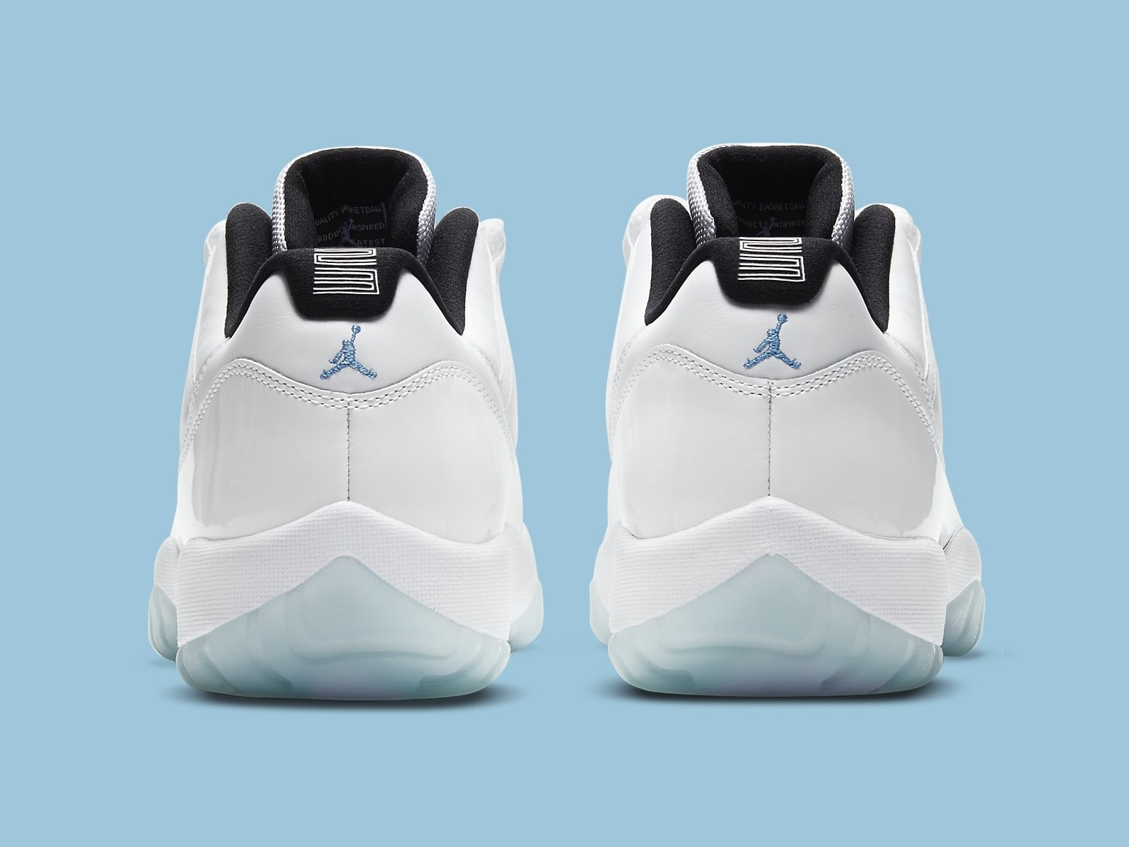 Air Jordan 11 XI Low Legend Blue Release Date AV2187-117 Heel