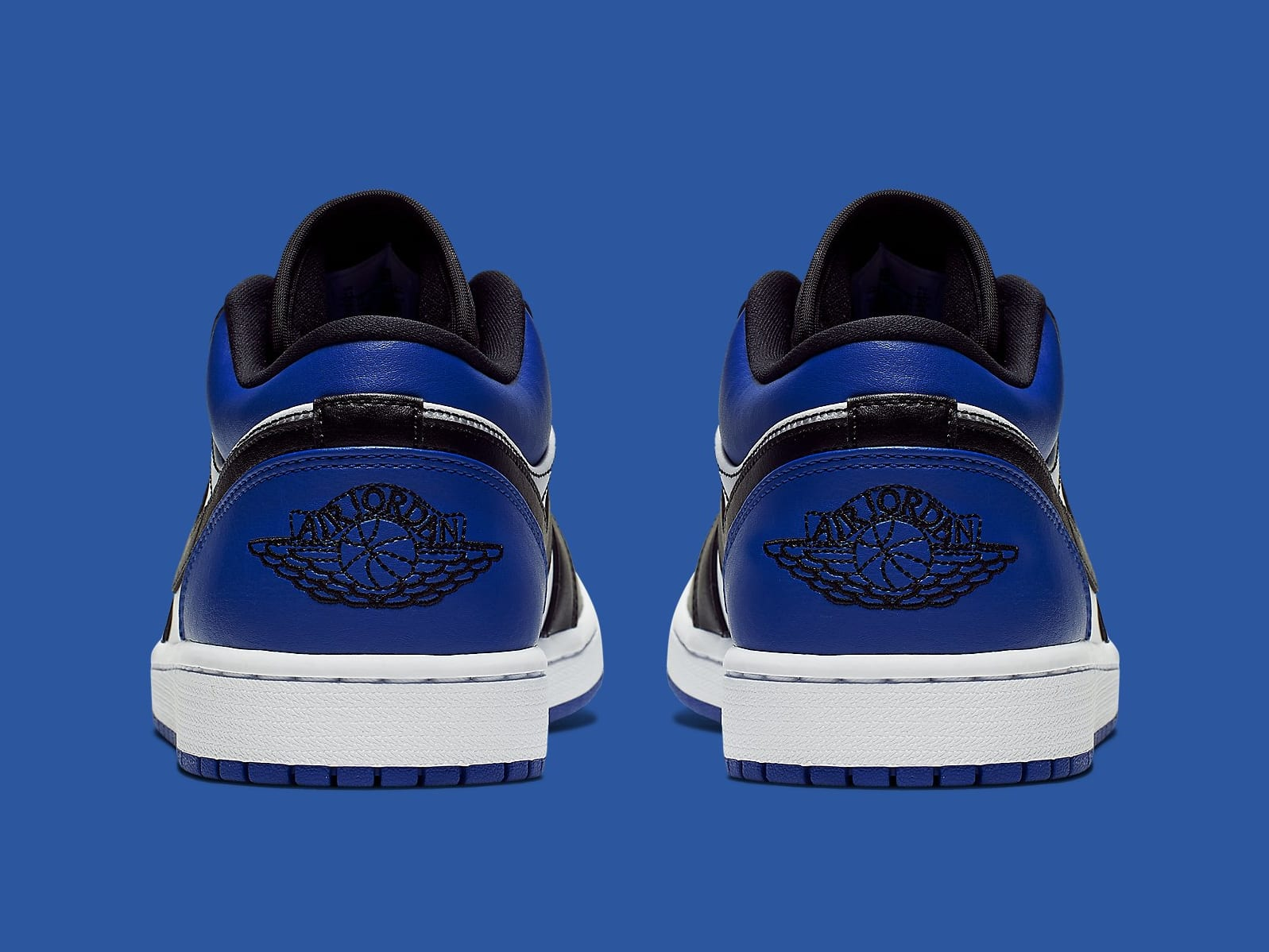 Air Jordan 1 Low Royal Toe Release Date CQ9446-400 Heel
