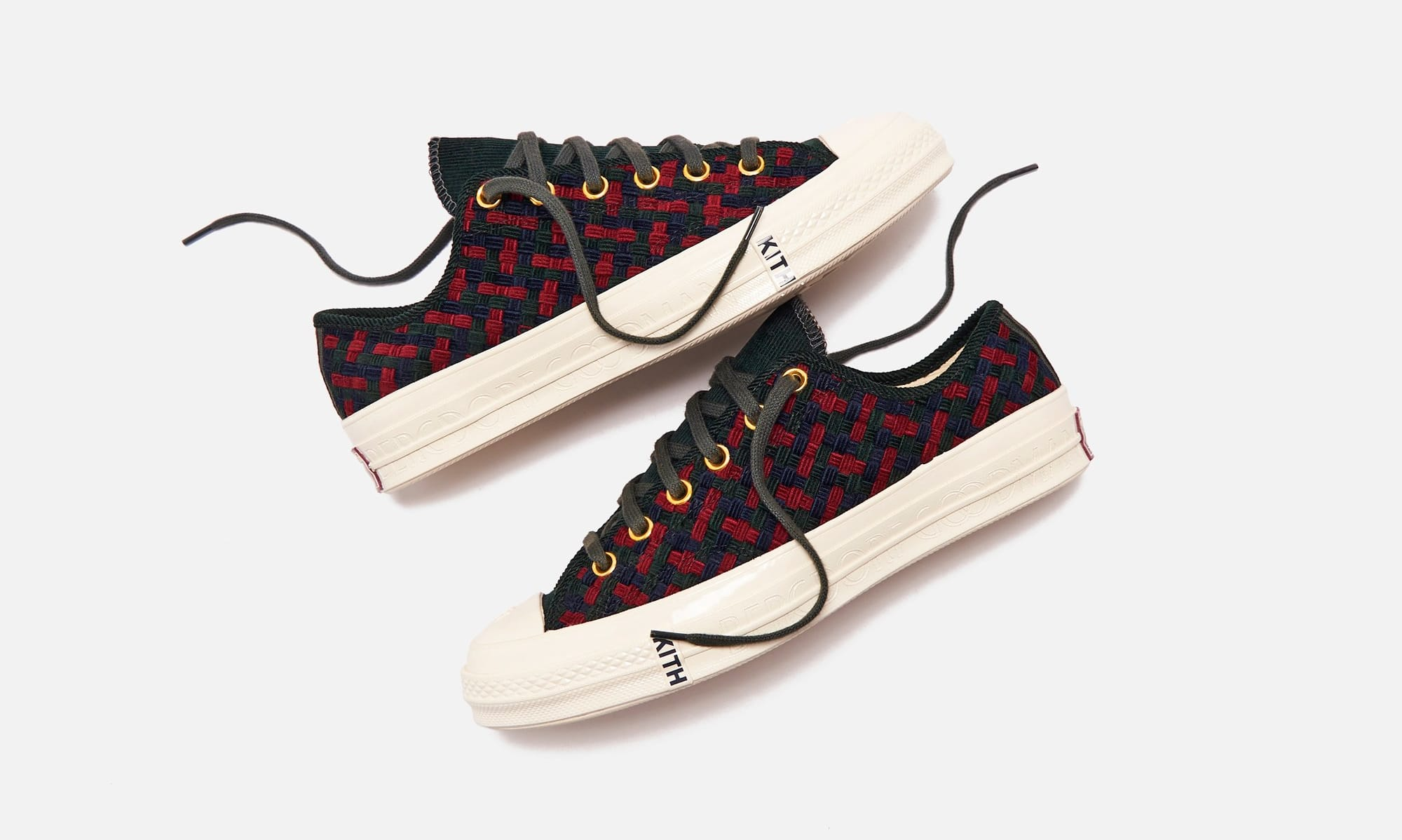 Kith x Bergdorf Goodman x Converse Chuck 70 Ox High Fall 2020