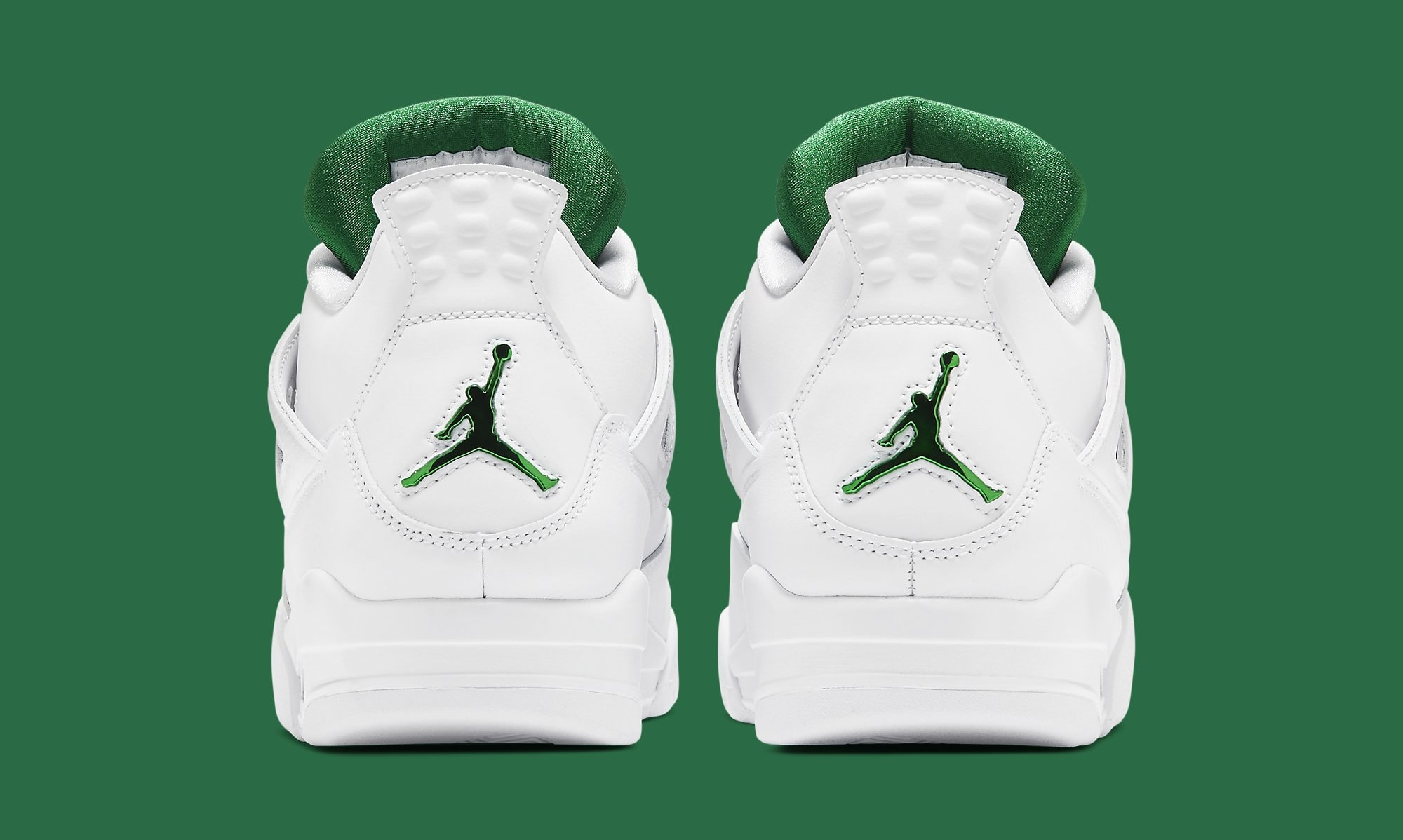Air Jordan 4 Retro 'Green Metallic' CT8527-113 Heel