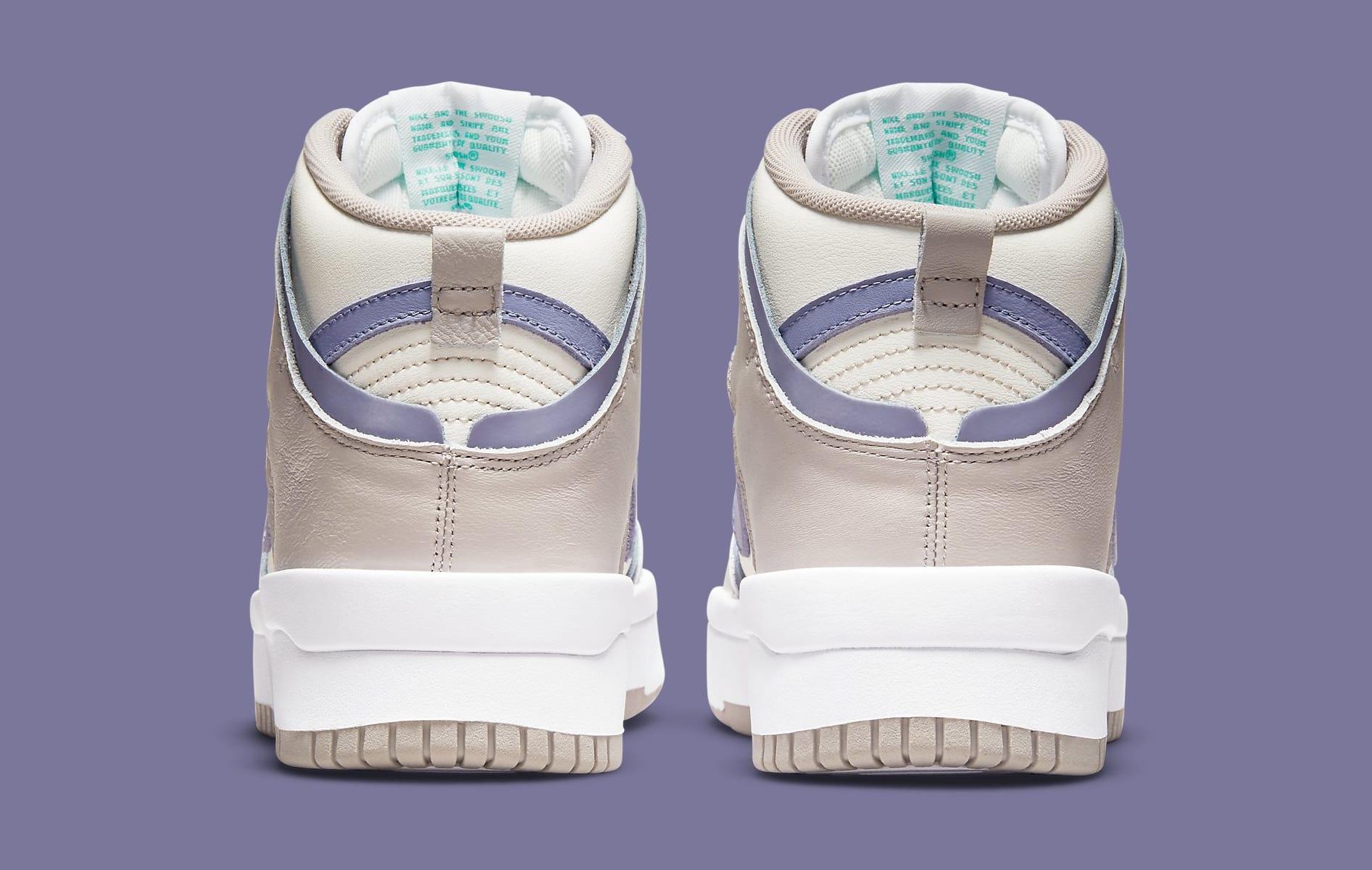 Nike Dunk High Up 'Iron Purple' DH3718-101 Heel