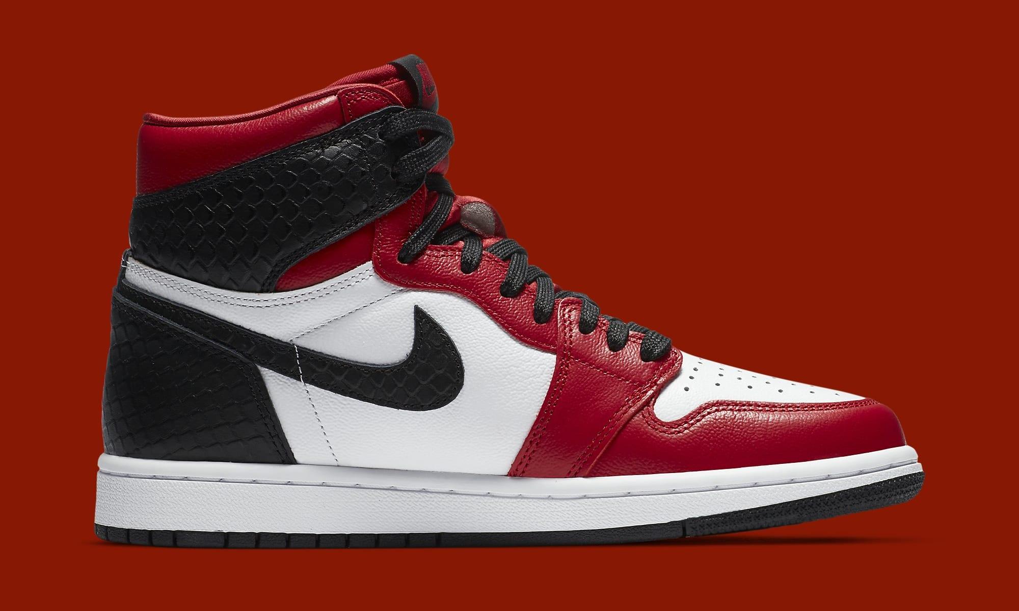 Air Jordan 1 Retro High OG 'Satin Snake' CD0461-601 Medial
