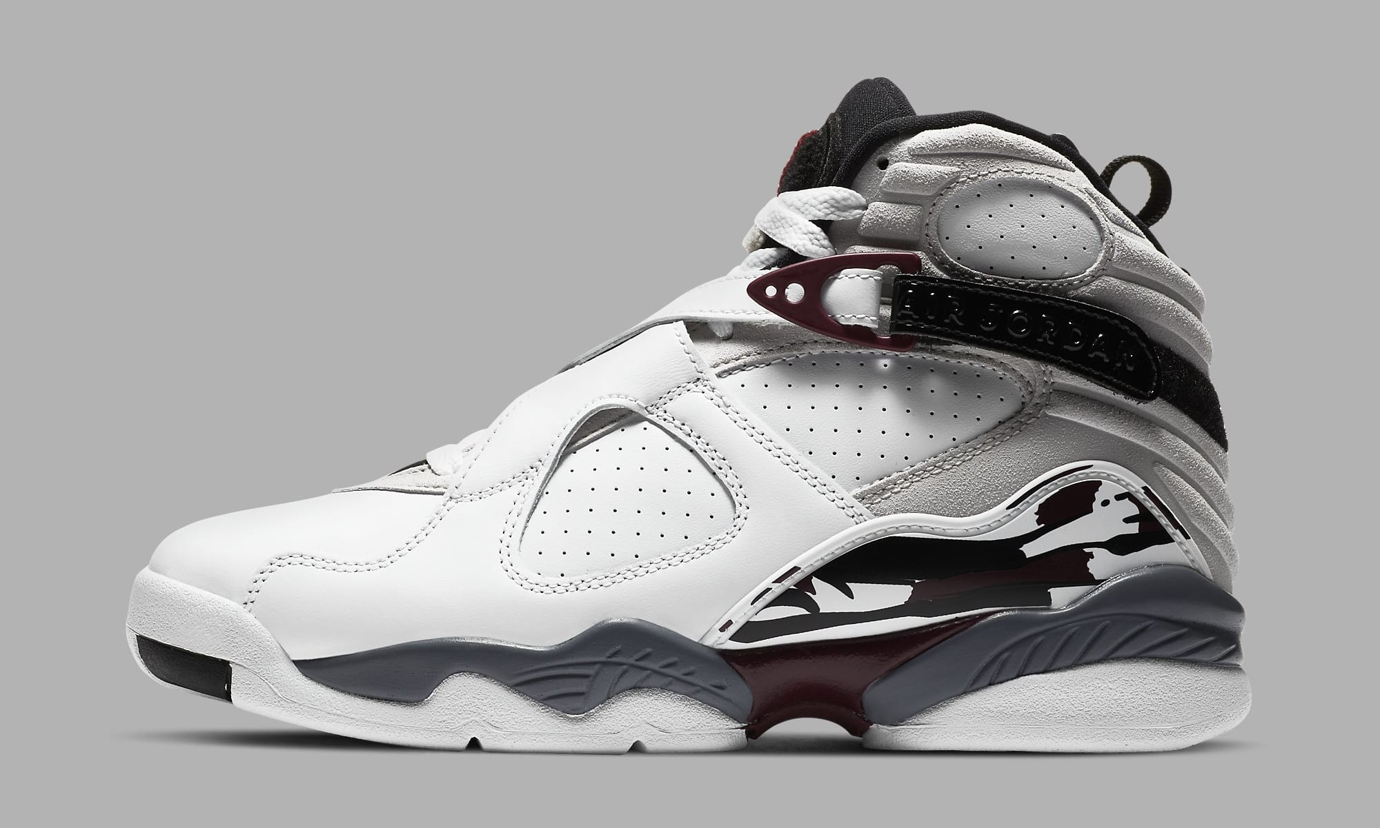 Air Jordan 8 Retro Women's 'Burgundy' CI1236-104 Lateral