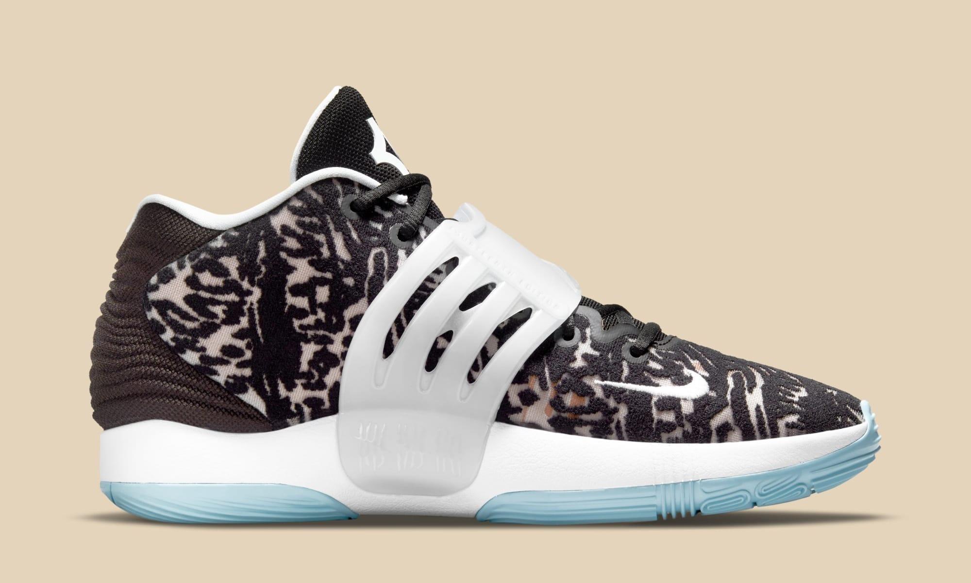 Nike KD 14 CW3935-001 (Medial)