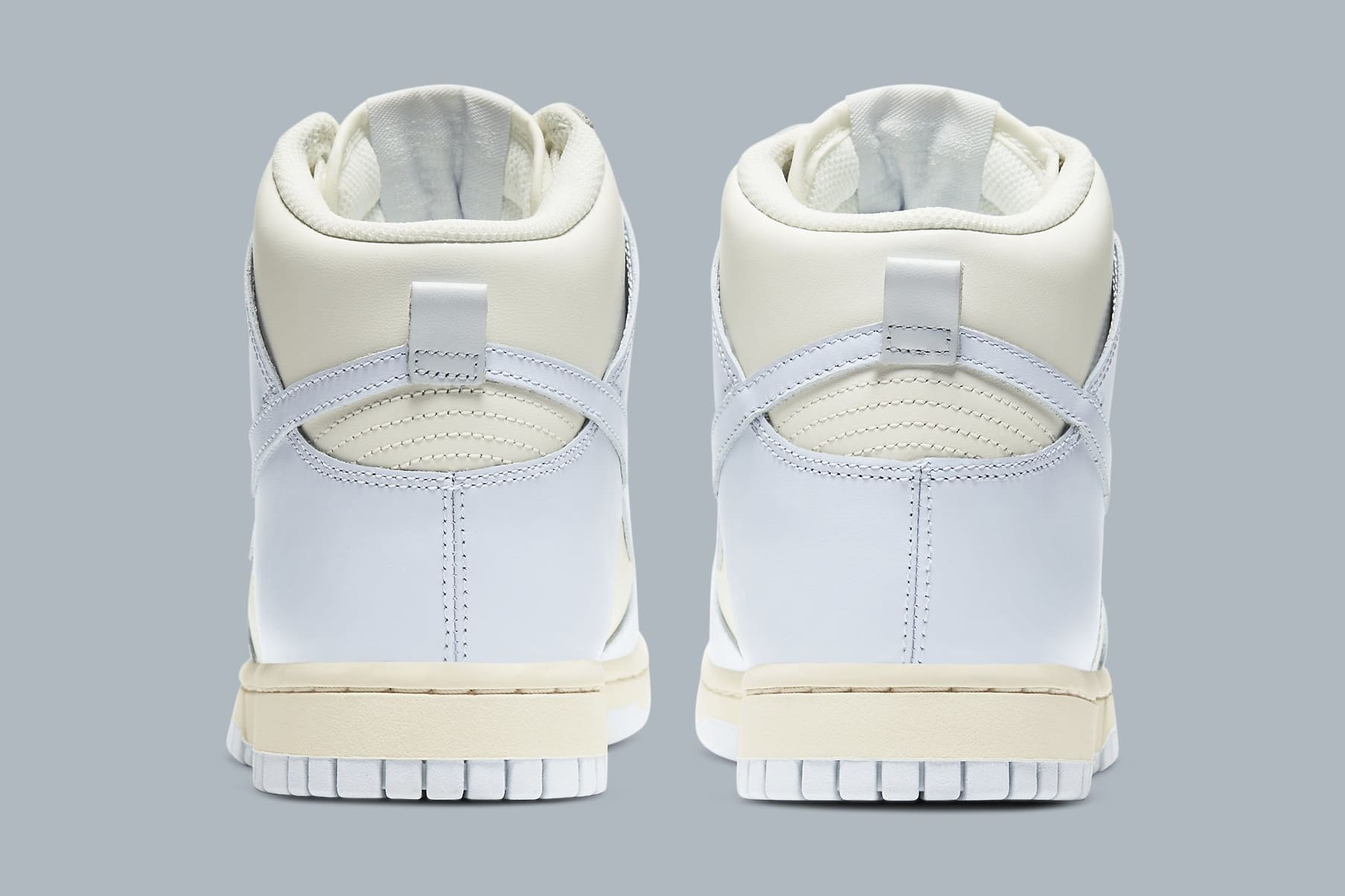 Nike Dunk High Women's 'Pale Ivory' DD1869-102 Heel