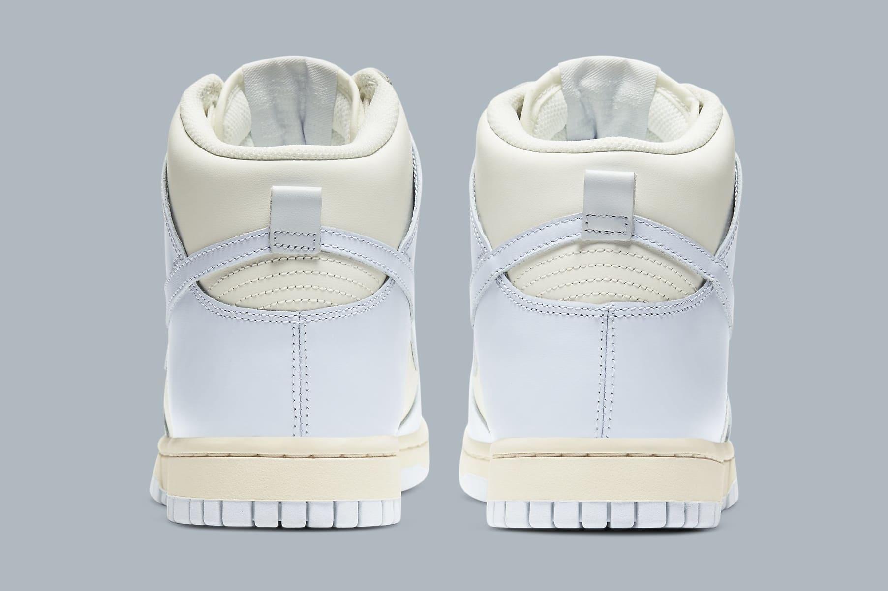 Nike Dunk High Women's 'Pale Ivory' DD1869-102 Heel