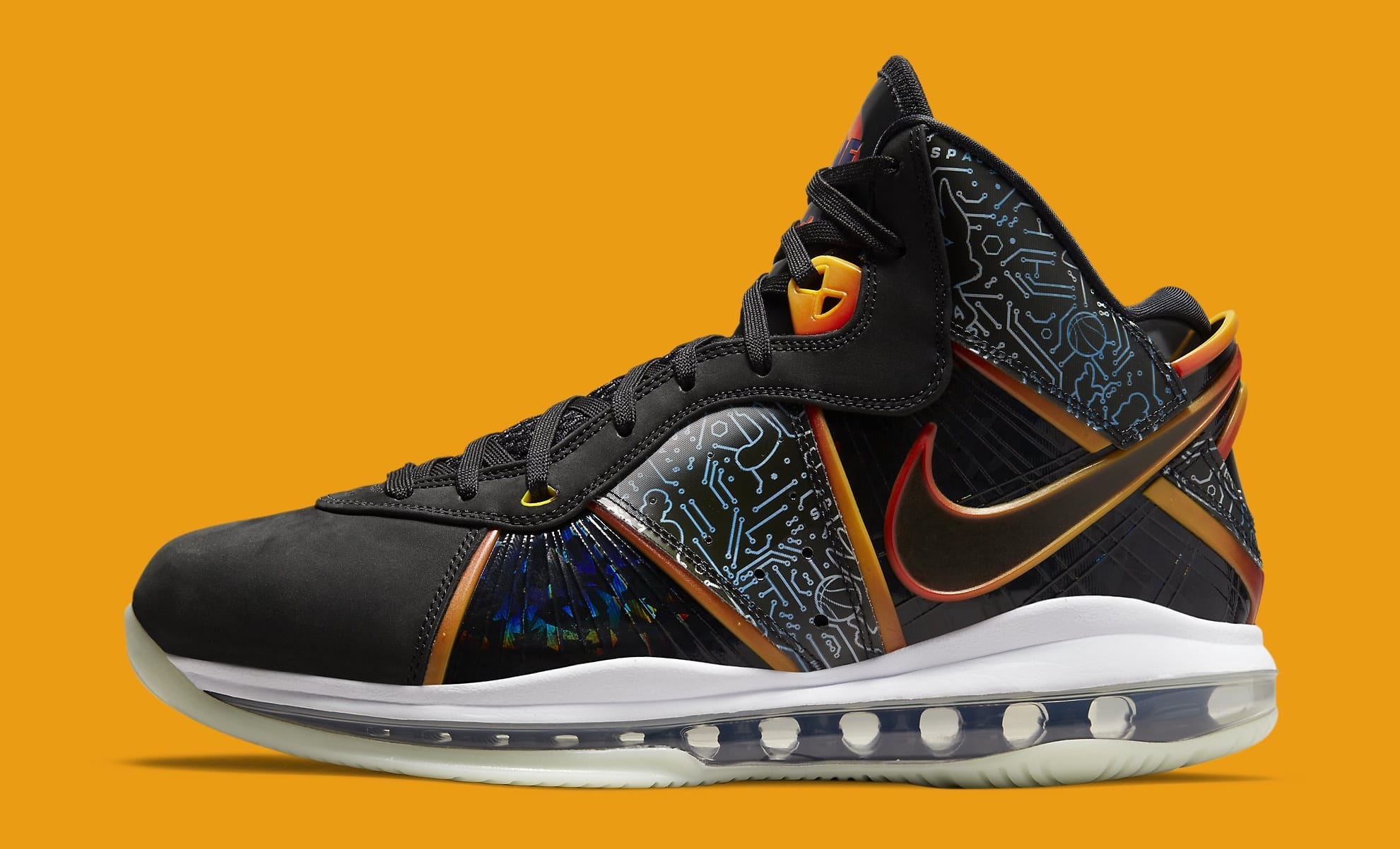 Nike LeBron 8 'Space Jam' DB1732-001 Lateral