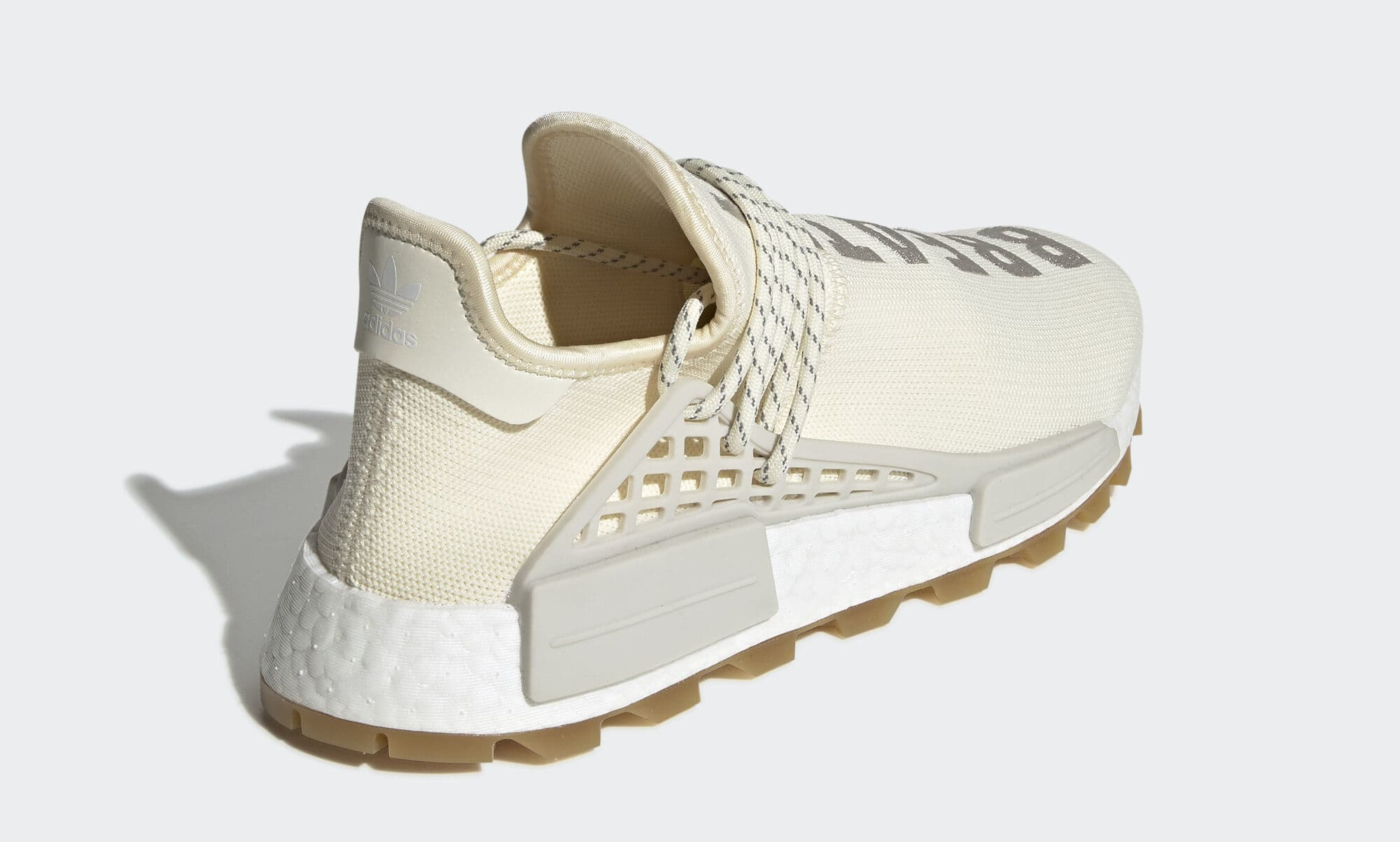 Pharrell x Adidas NMD Hu 'Gum' EG7737 (Heel)