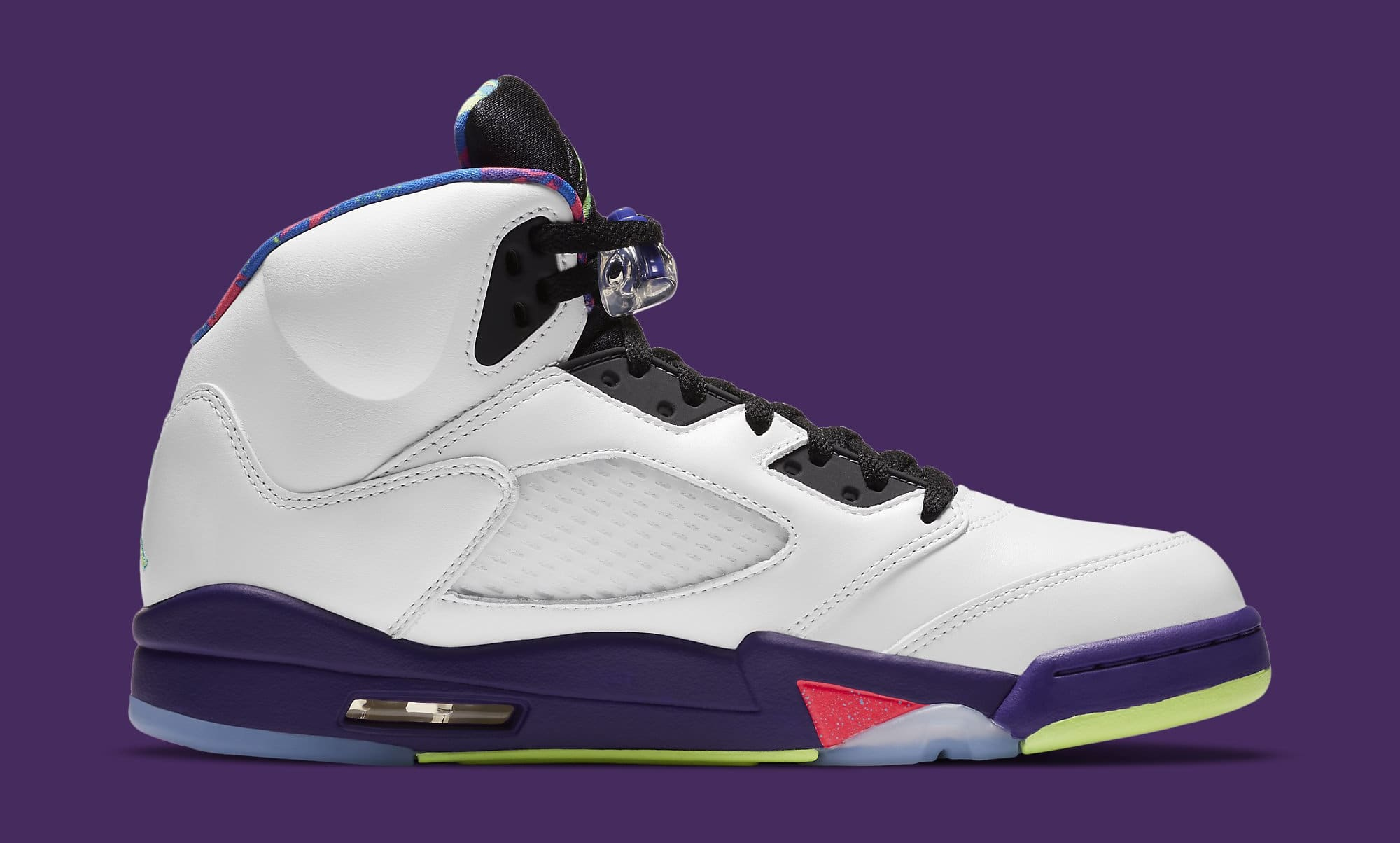 Air Jordan 5 Retro 'Ghost Green' DB3335-100 Medial