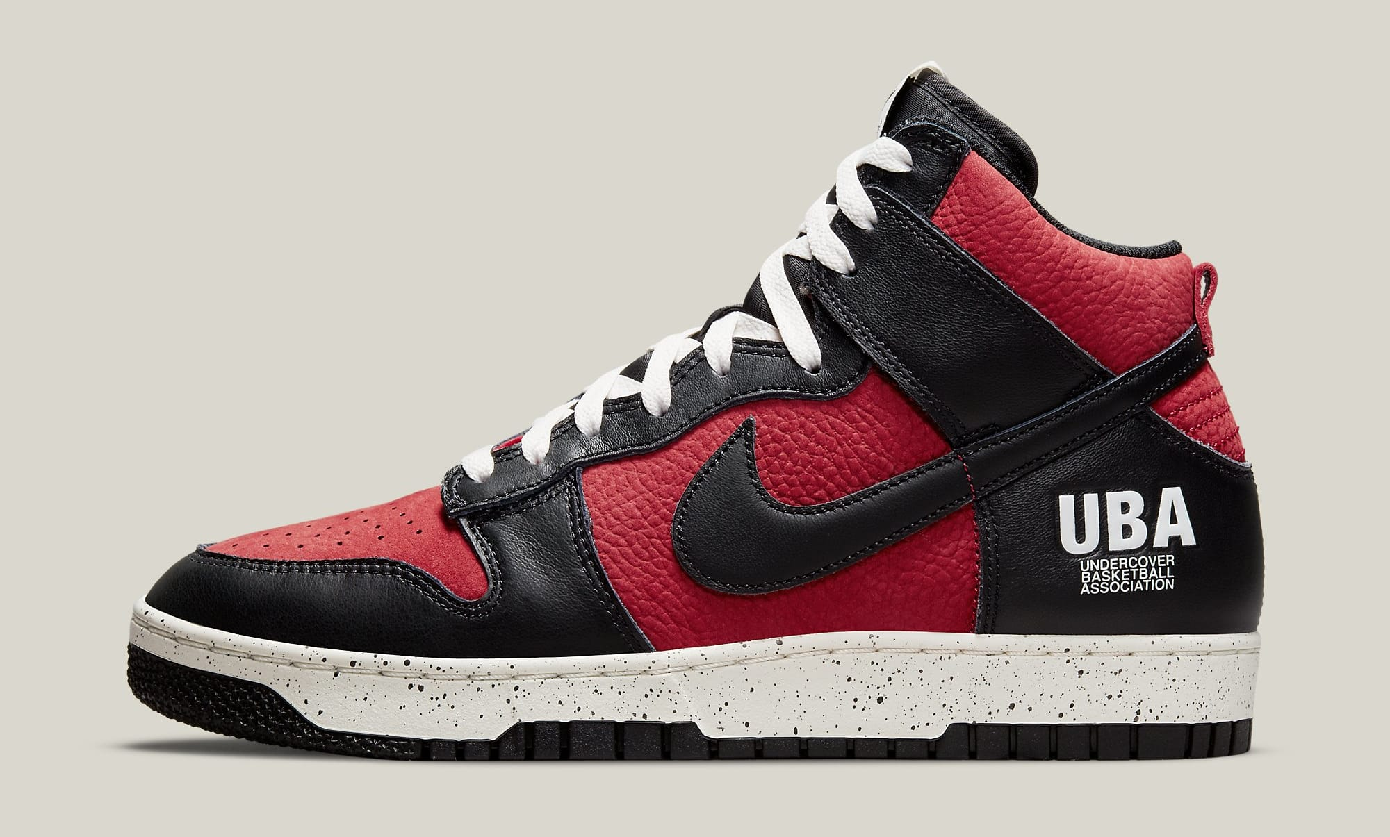 Undercover x Nike Dunk High 1985 'Gym Red' DD9401-600 Lateral