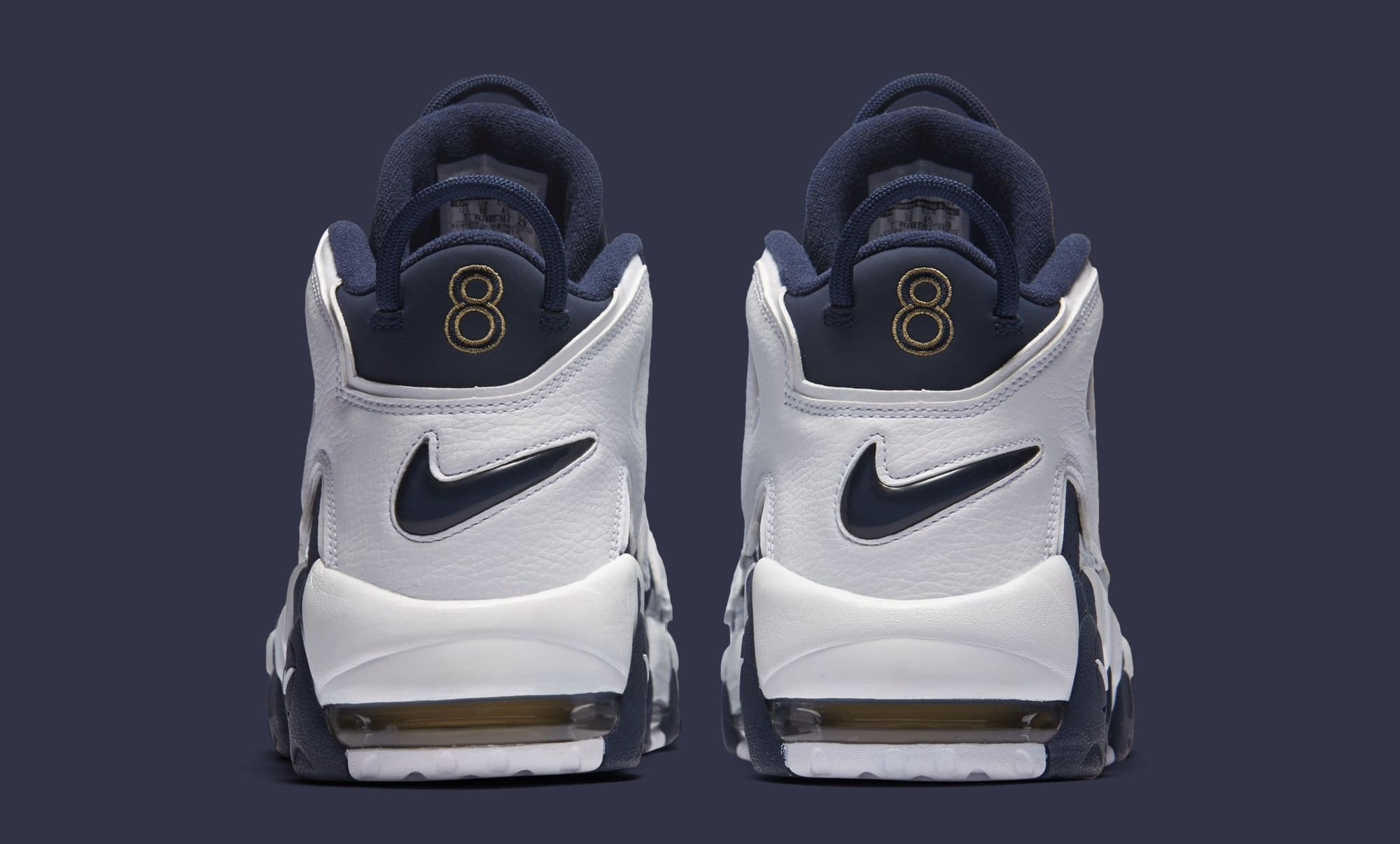 Nike Air More Uptempo 'Olympic' 2020 414962-104  (Heel)