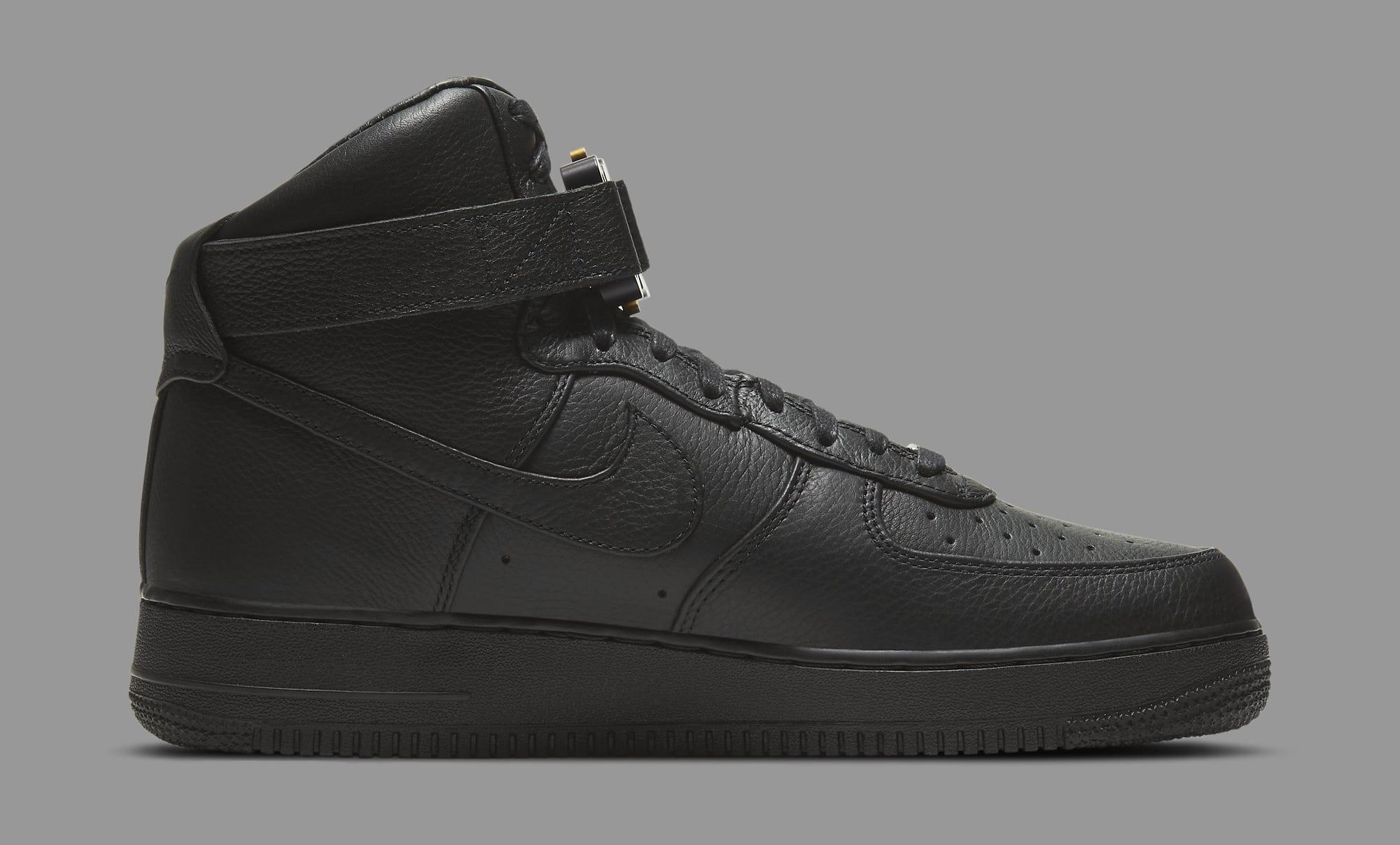Alyx x Nike Air Force 1 High CQ4018-001 Medial