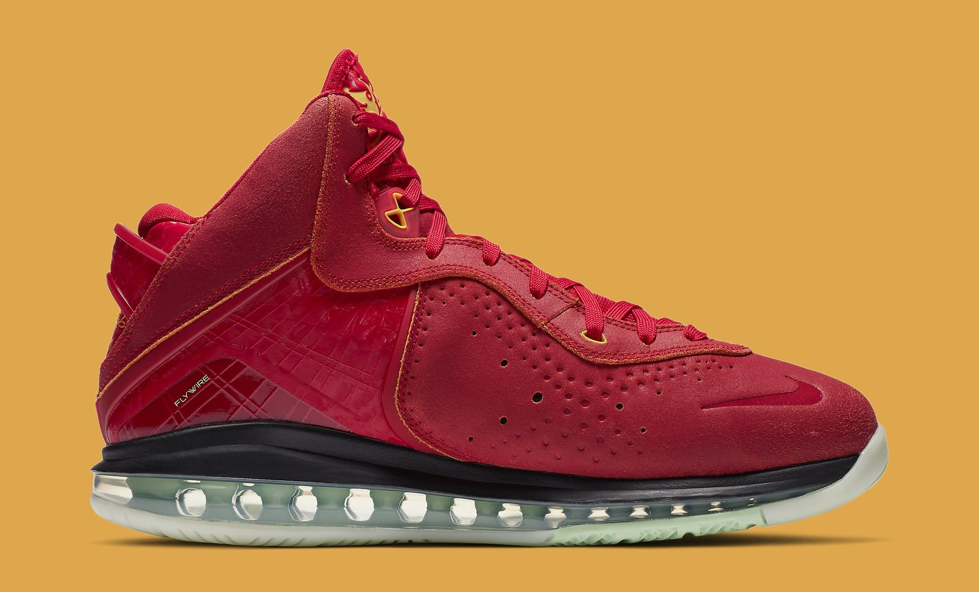 Nike LeBron 8 QS 'Gym Red' CT5330-600 Medial