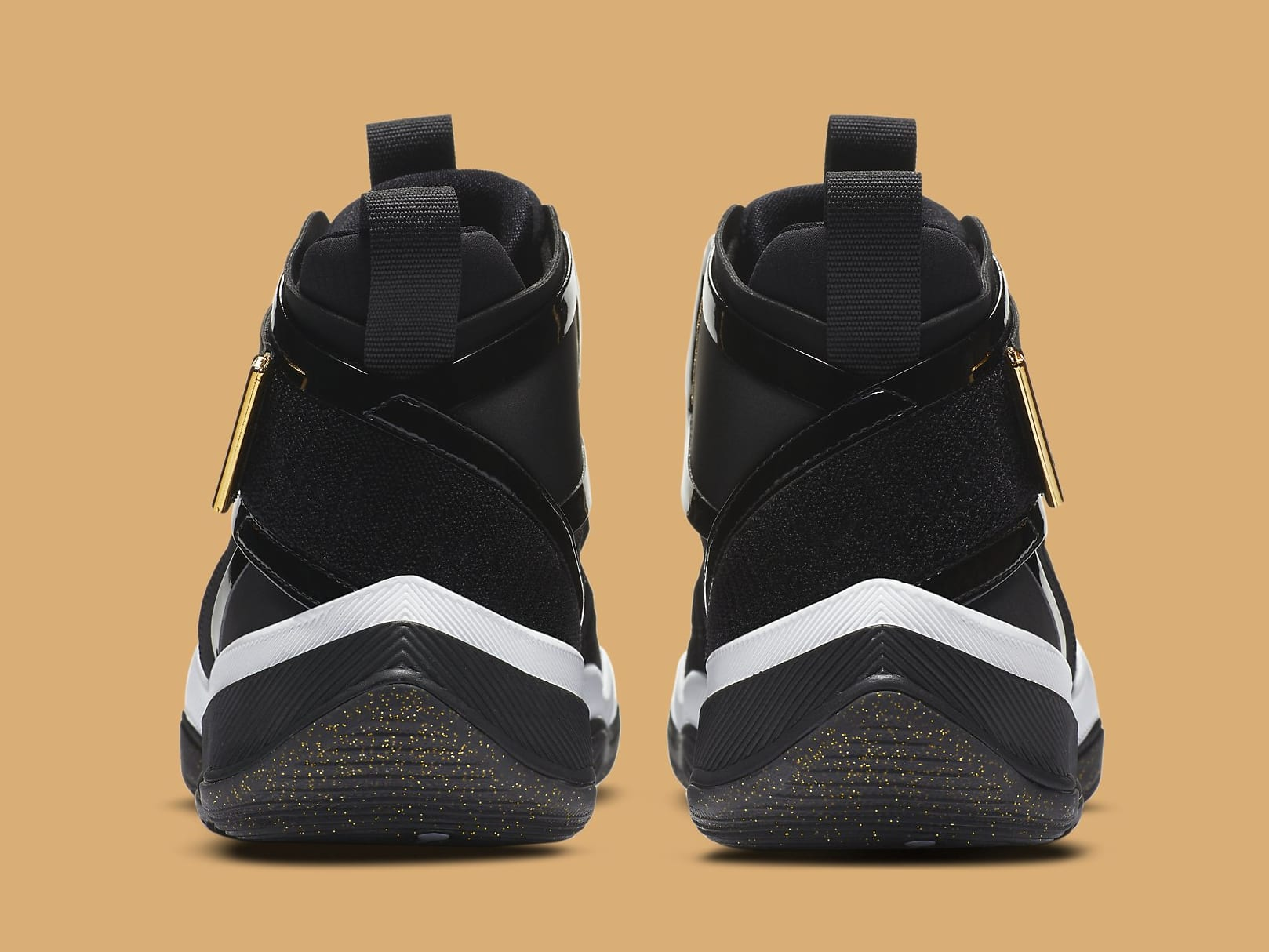 Jordan AJNT 23 Black Gold Release Date CI5441-008 Heel