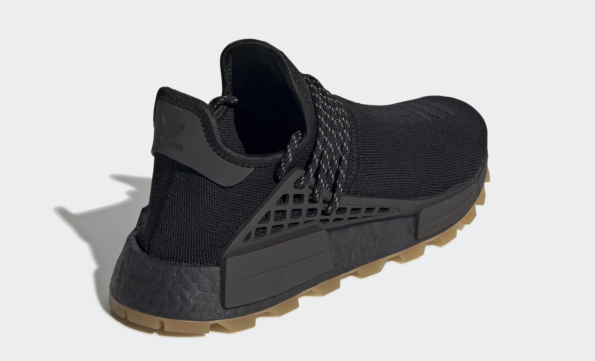 Pharrell x Adidas NMD Hu 'Gum' EG7836 (Heel)