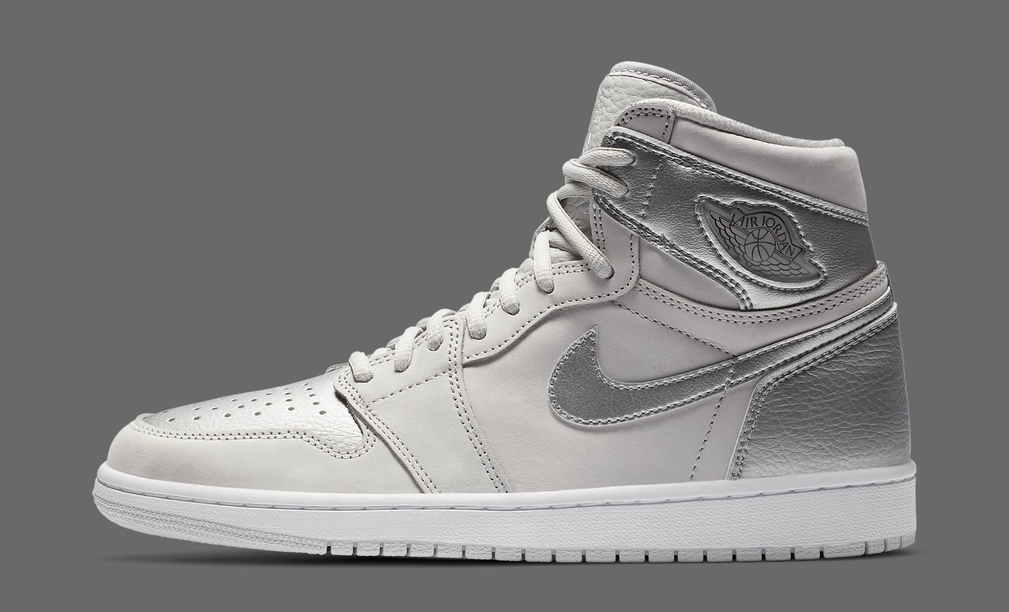 Air Jordan 1 Retro High OG CO.JP 'Metallic Silver' DA0382-029 Lateral