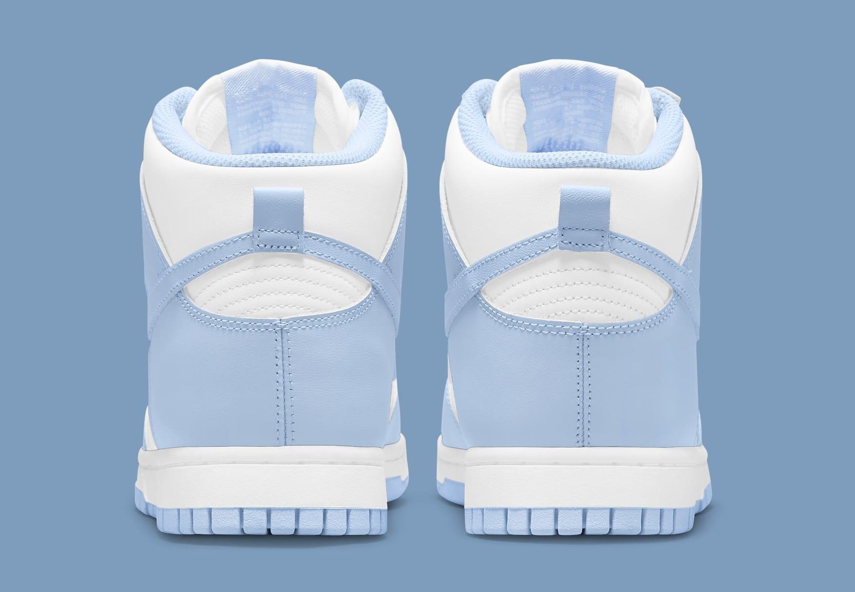 Nike Dunk High Women's 'Aluminum' DD1869-107 Heel