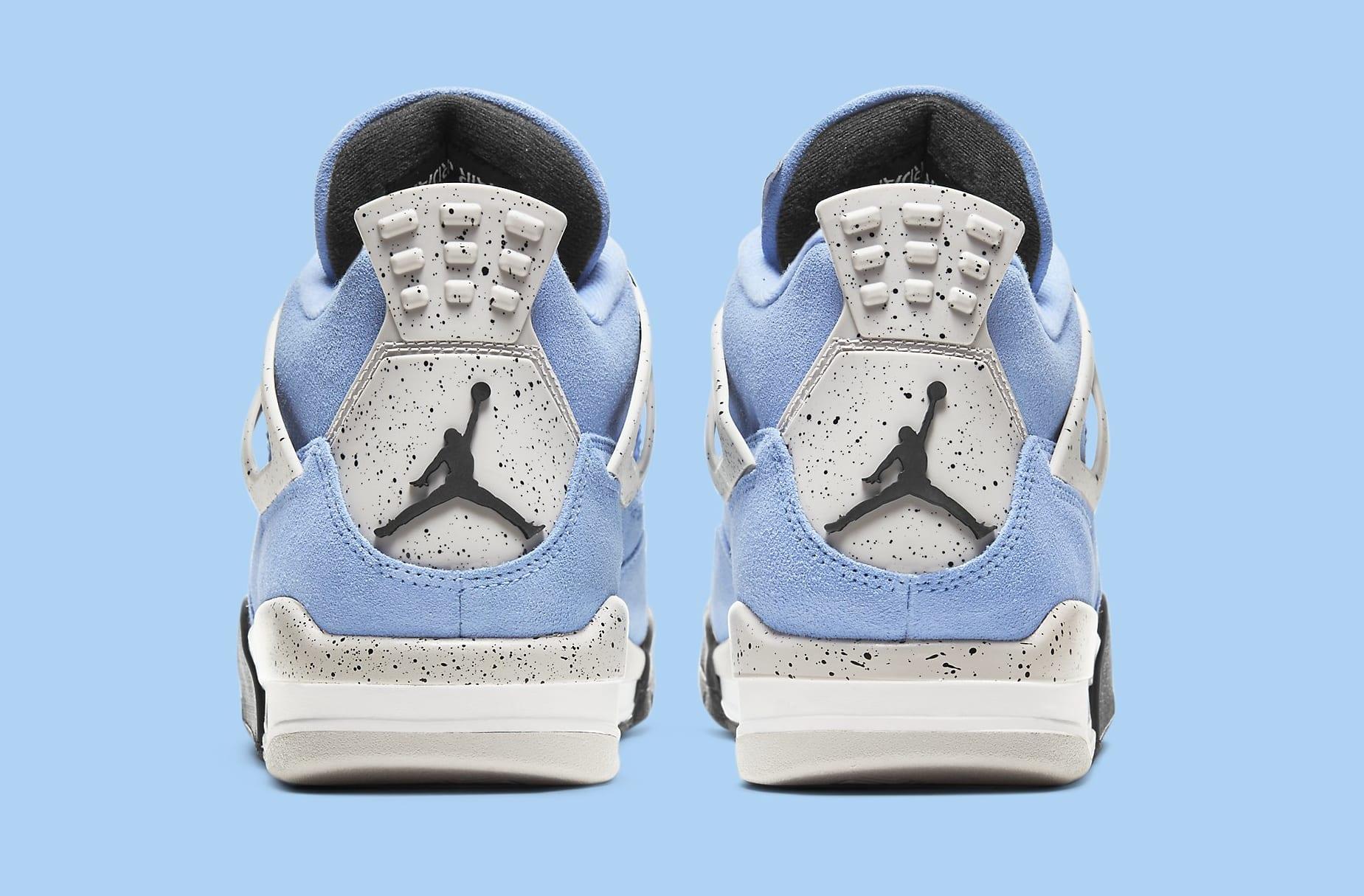 Air Jordan 4 Retro 'UNC' CT8527-400 Heel
