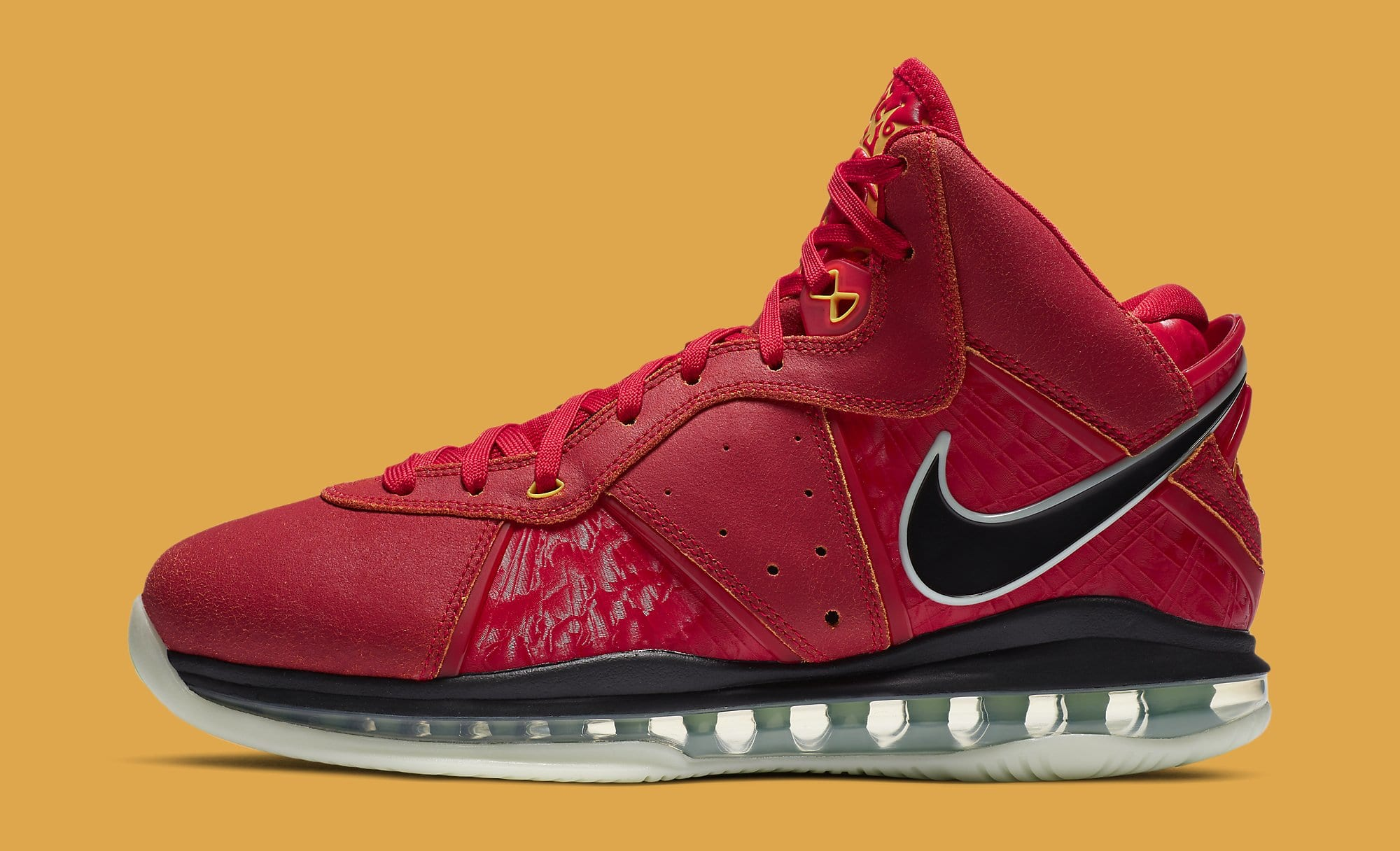 Nike LeBron 8 QS 'Gym Red' CT5330-600 Lateral
