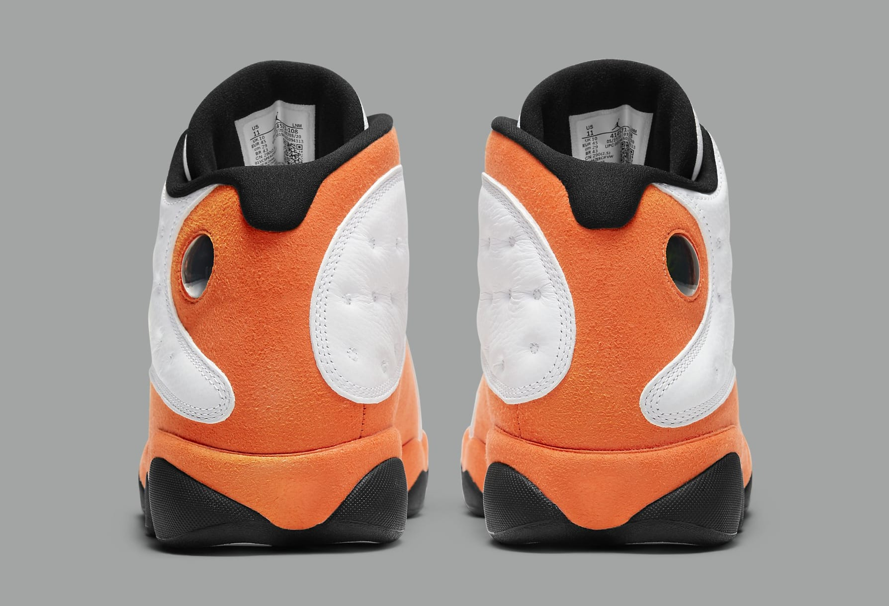 Air Jordan 13 Retro 'Starfish' 414571-108 Heel