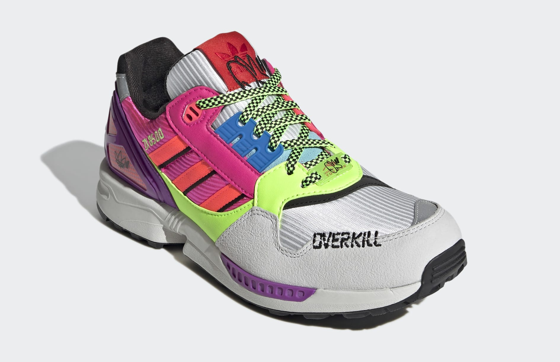 Overkill x Adidas ZX 8500 Medial Front