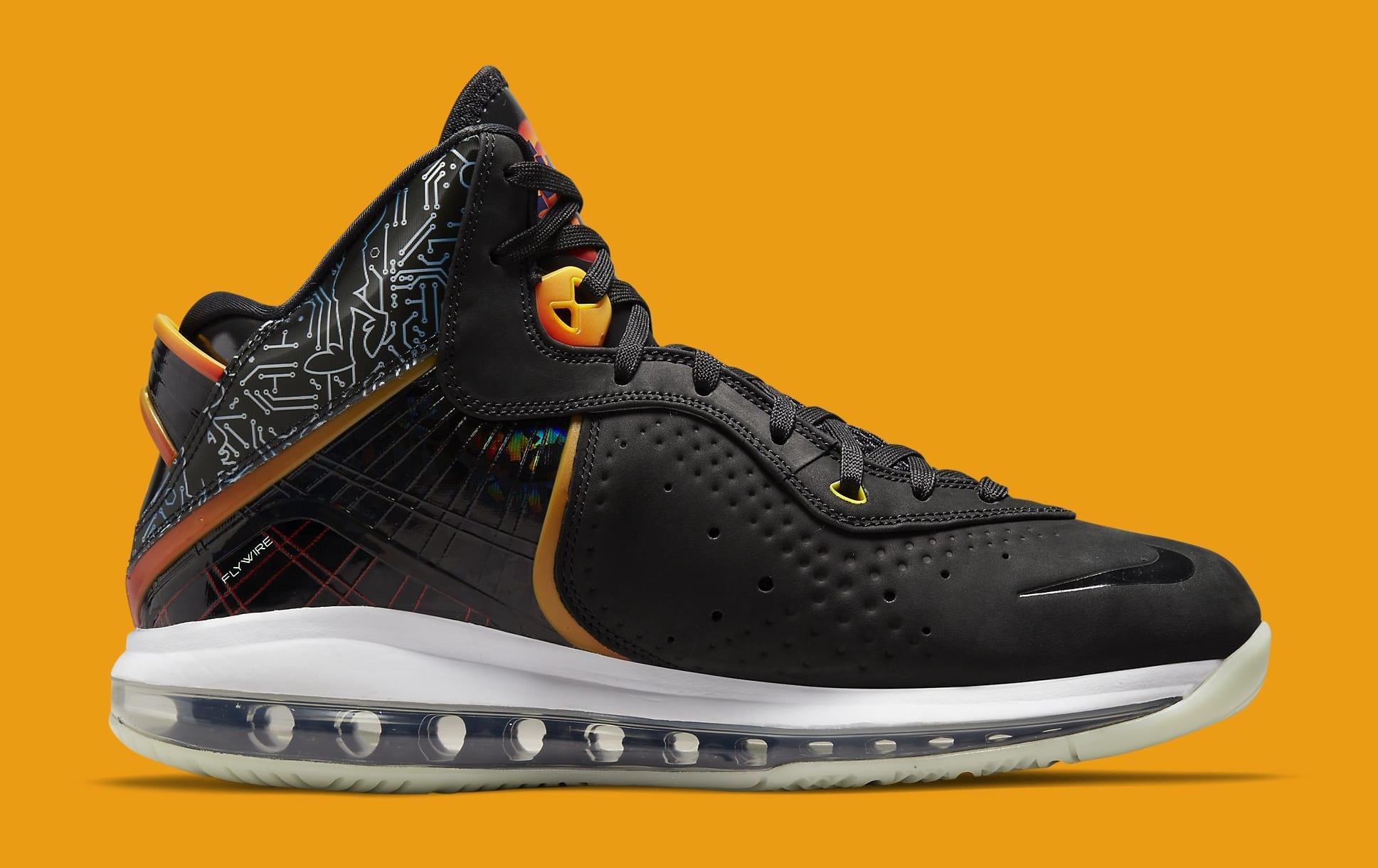 Nike LeBron 8 'Space Jam' DB1732-001 Medial