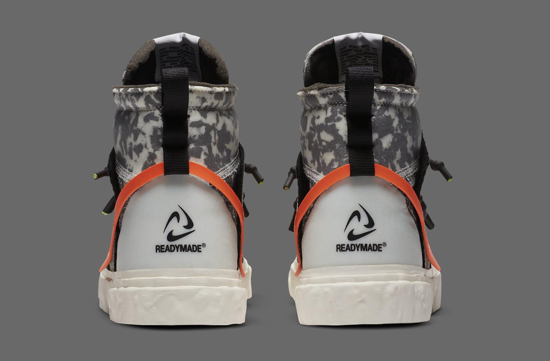 Readymade x Nike Blazer Mid CZ3589-001 Heel