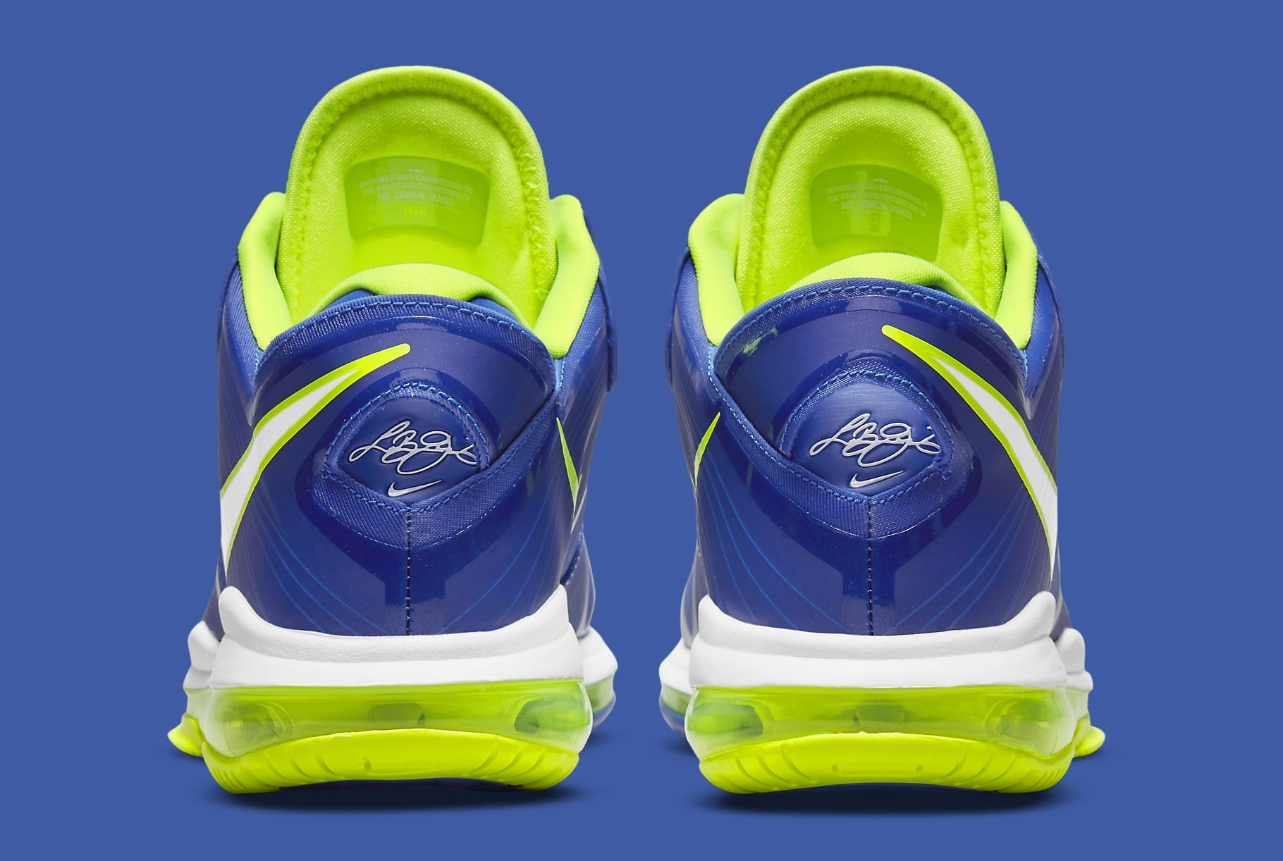 Nike LeBron 8 Low 'Sprite' 2021 DN1581-400 Heel