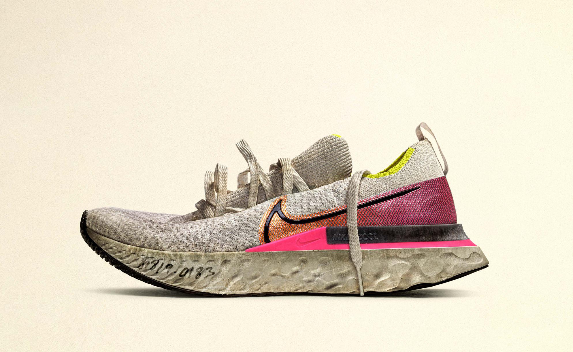Nike React Infinity Run (Unlaced Worn)