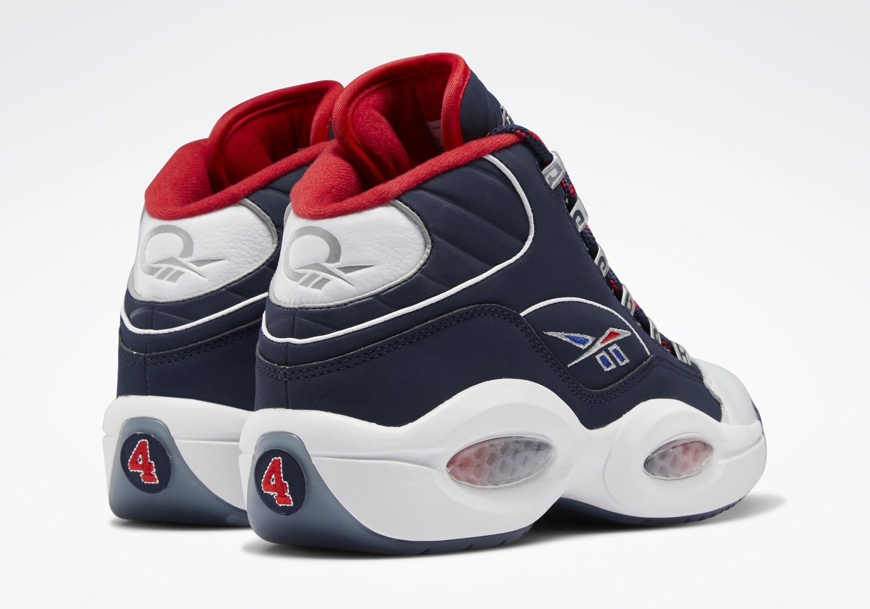 Reebok Question Mid 'Iverson Four' H01281 Heel