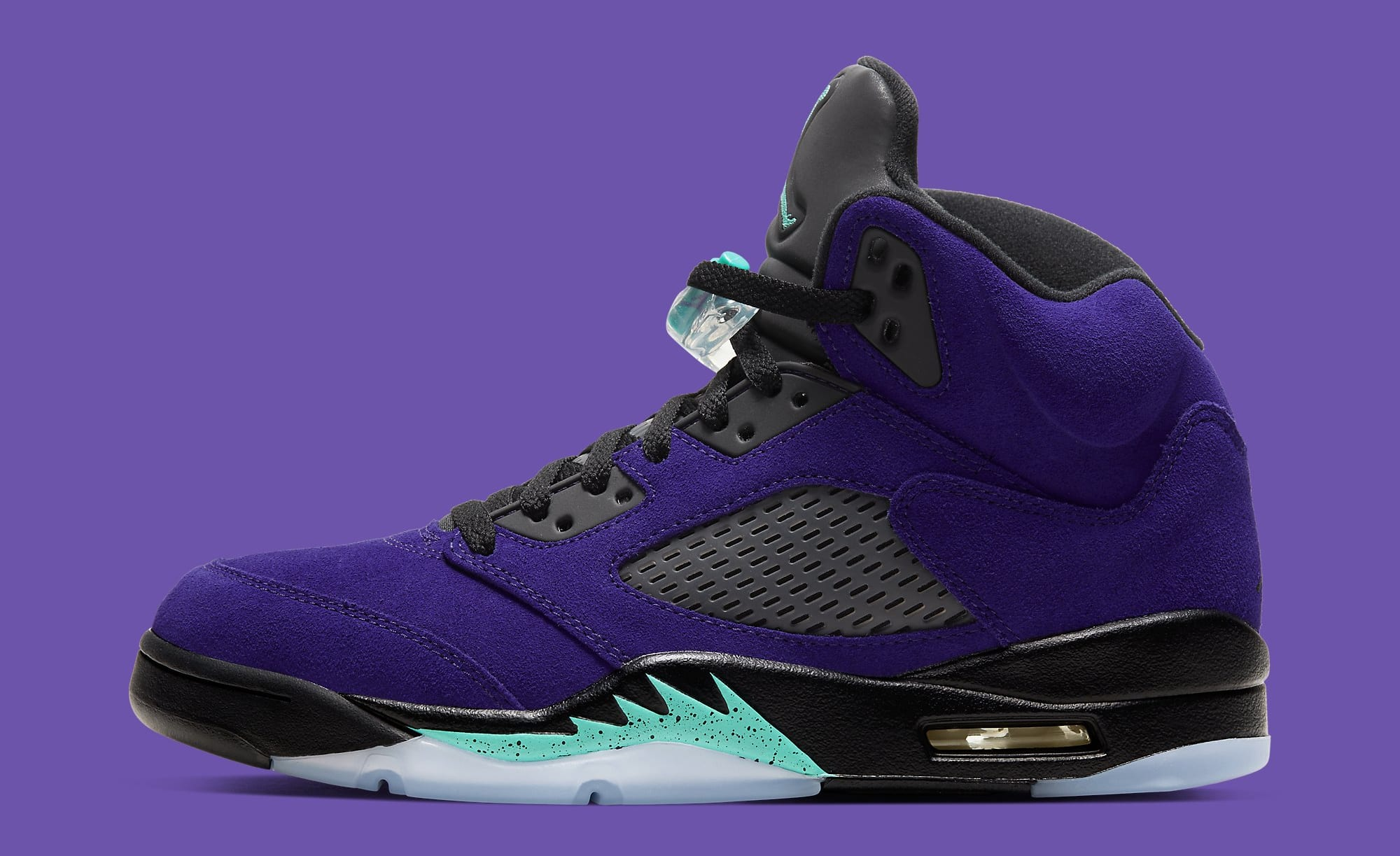 Air Jordan 5 Retro 'Alternate Grape' 136027-500 Lateral