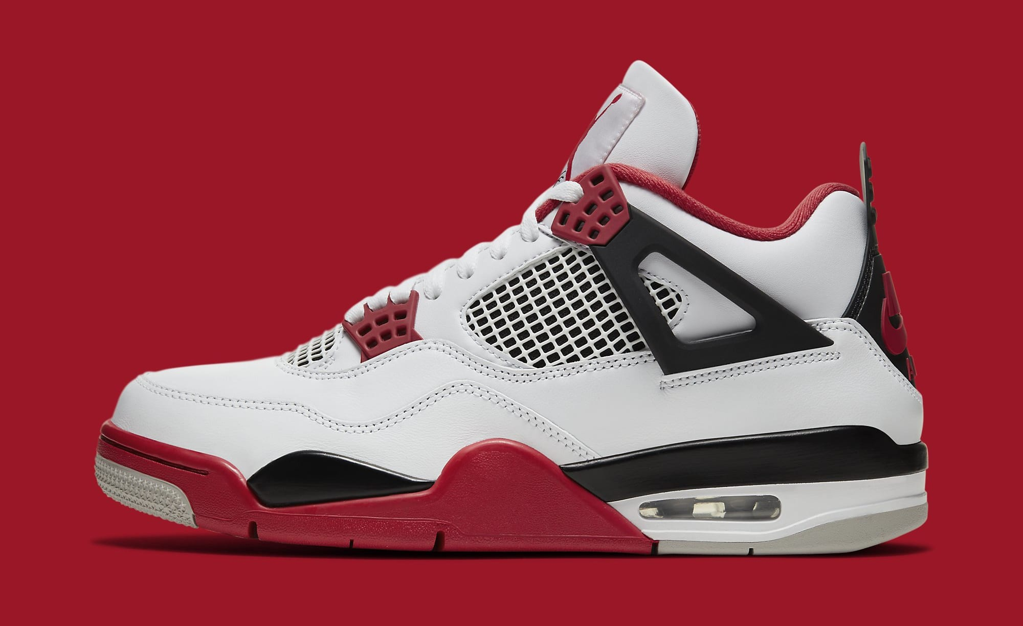 Air Jordan 4 IV Fire Red 2020 Release Date DC7770-160 Lateral