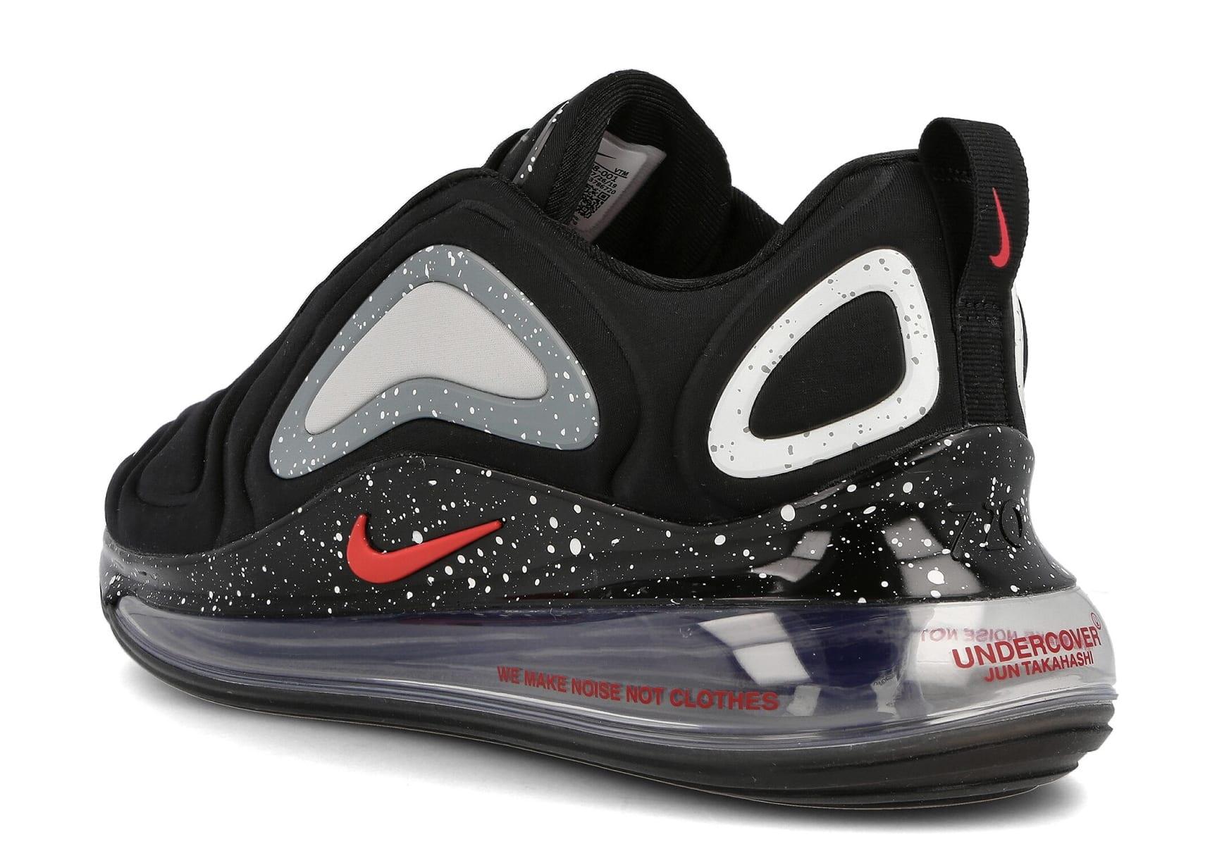 Undercover x Nike Air Max 720 CN2408-001 (Heel)