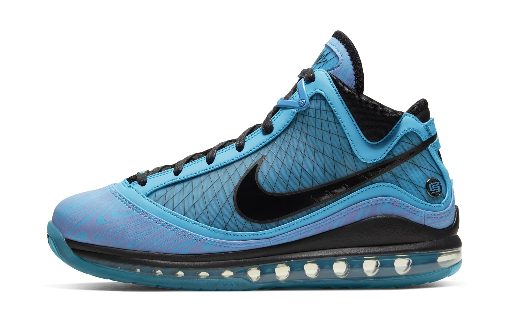 Nike LeBron 7 'All-Star' CU5646-400 (Lateral)