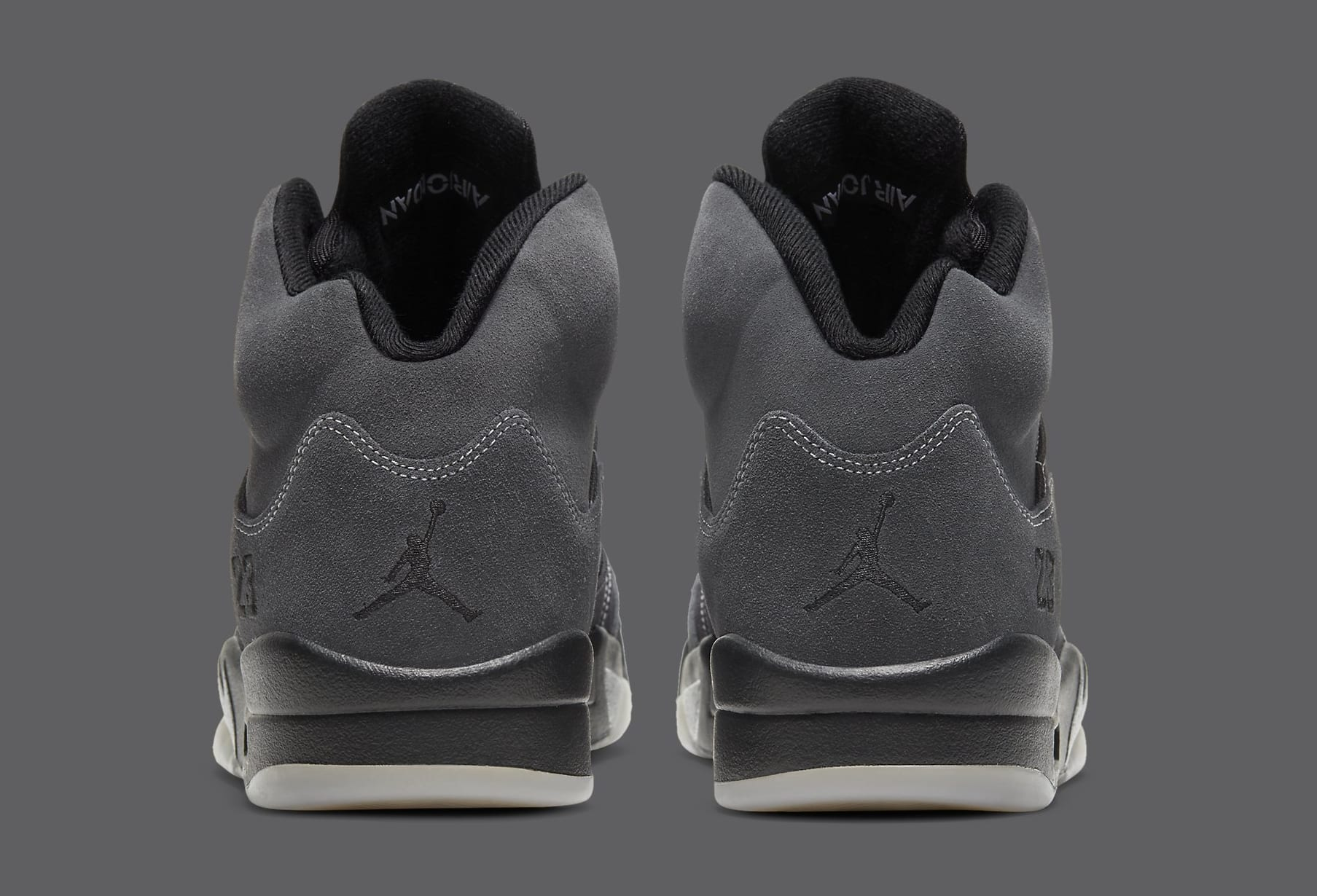 Air Jordan 5 Retro 'Anthracite' DB0731-001 Heel