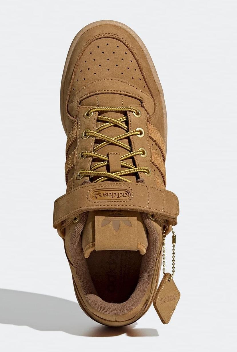Atmos x Adidas Forum Low 'Wheat' GX3953 Top
