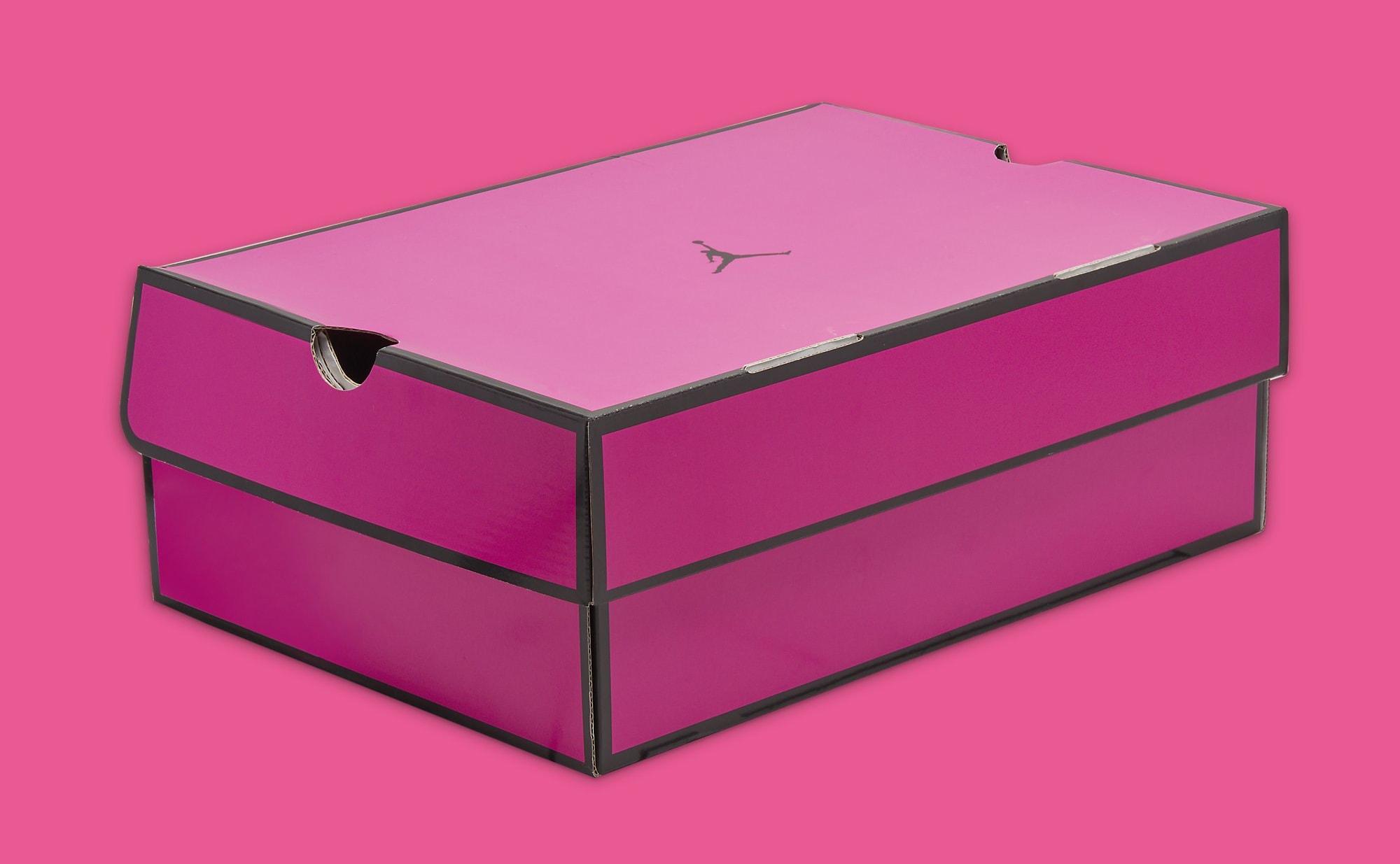 Air Jordan 14 Women's 'Shocking Pink' DH4121 600 Box