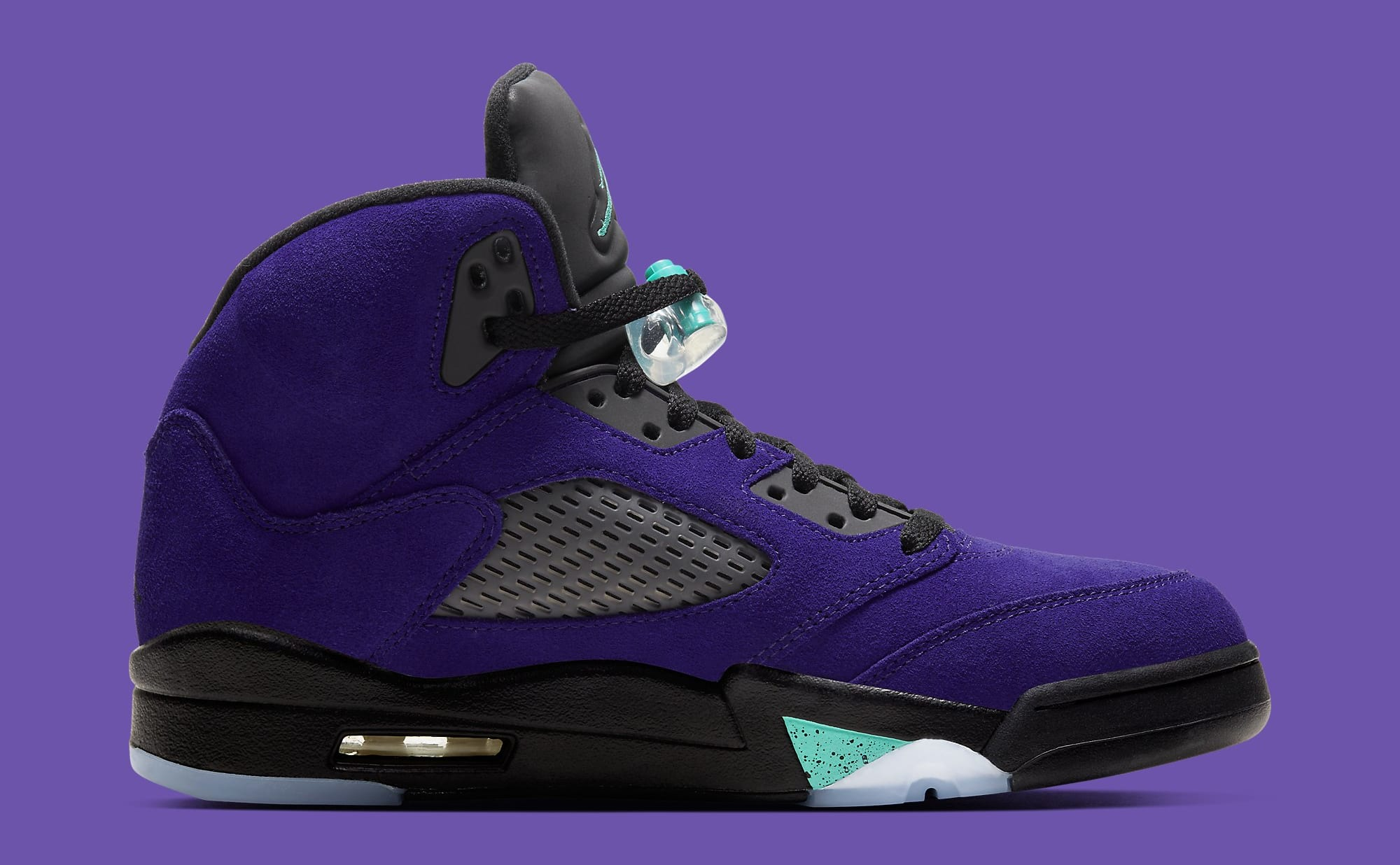 Air Jordan 5 Retro 'Alternate Grape' 136027-500 Medial