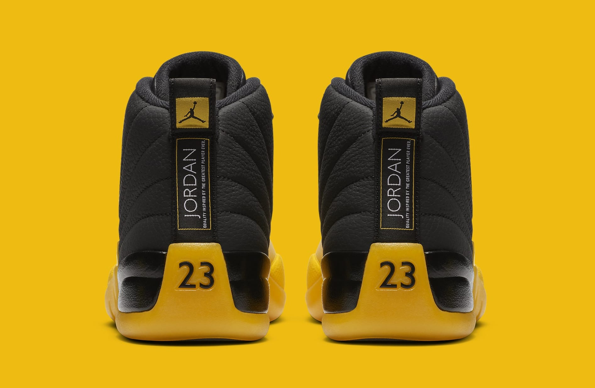 Air Jordan 12 Black University Gold Release Date 130690 070 Sole Collector