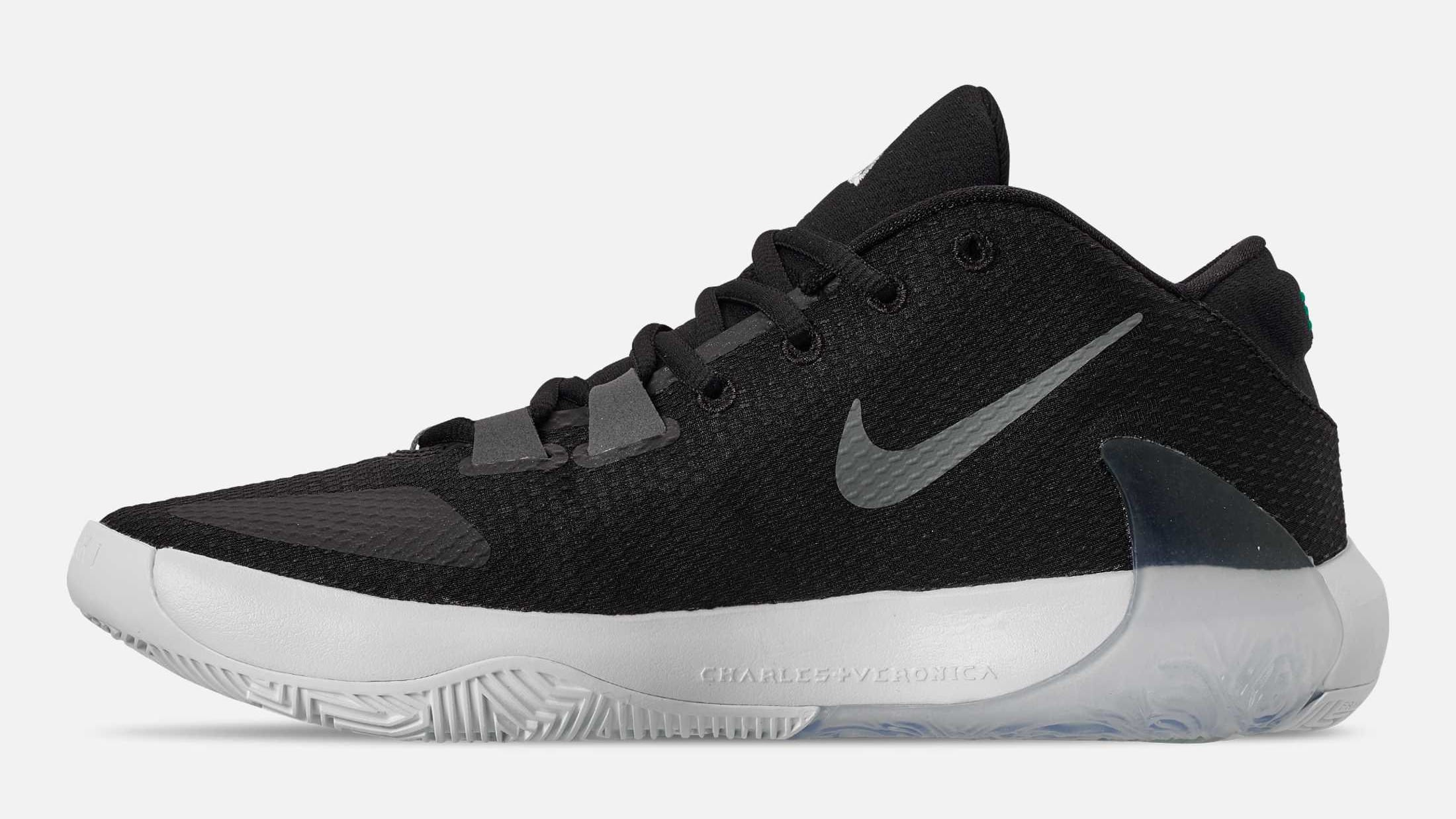Nike Zoom Freak 1 Black Release Date BQ5422-001 Medial