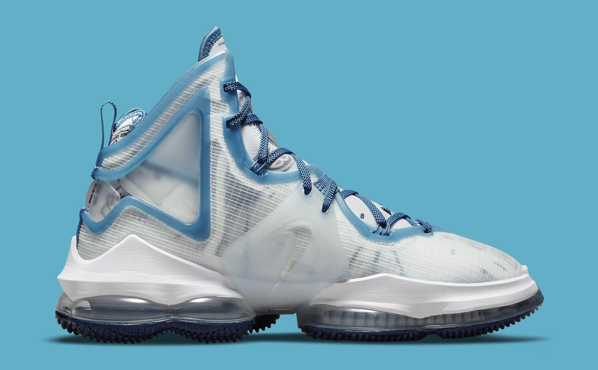 Nike LeBron 19 'Space Jam' DC9338-100 Medial