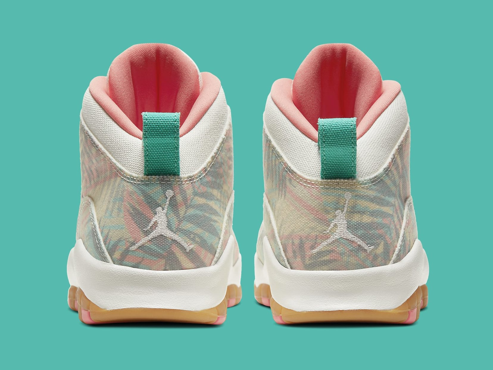 Air Jordan 10 Super Bowl LIV Release Date CV9776-900 Heel