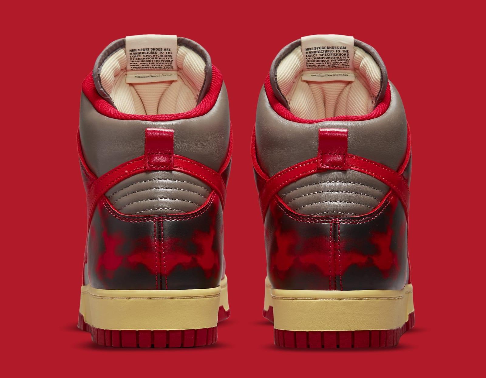 Nike Dunk High 'Acid Wash' DD9404-600 Heel