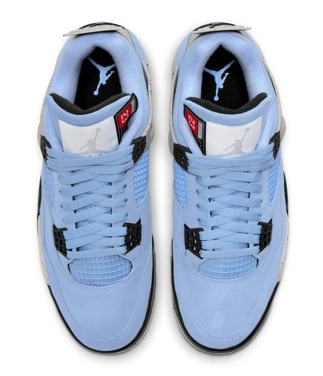 Air Jordan 4 Retro 'University Blue' CT8527-400 Top