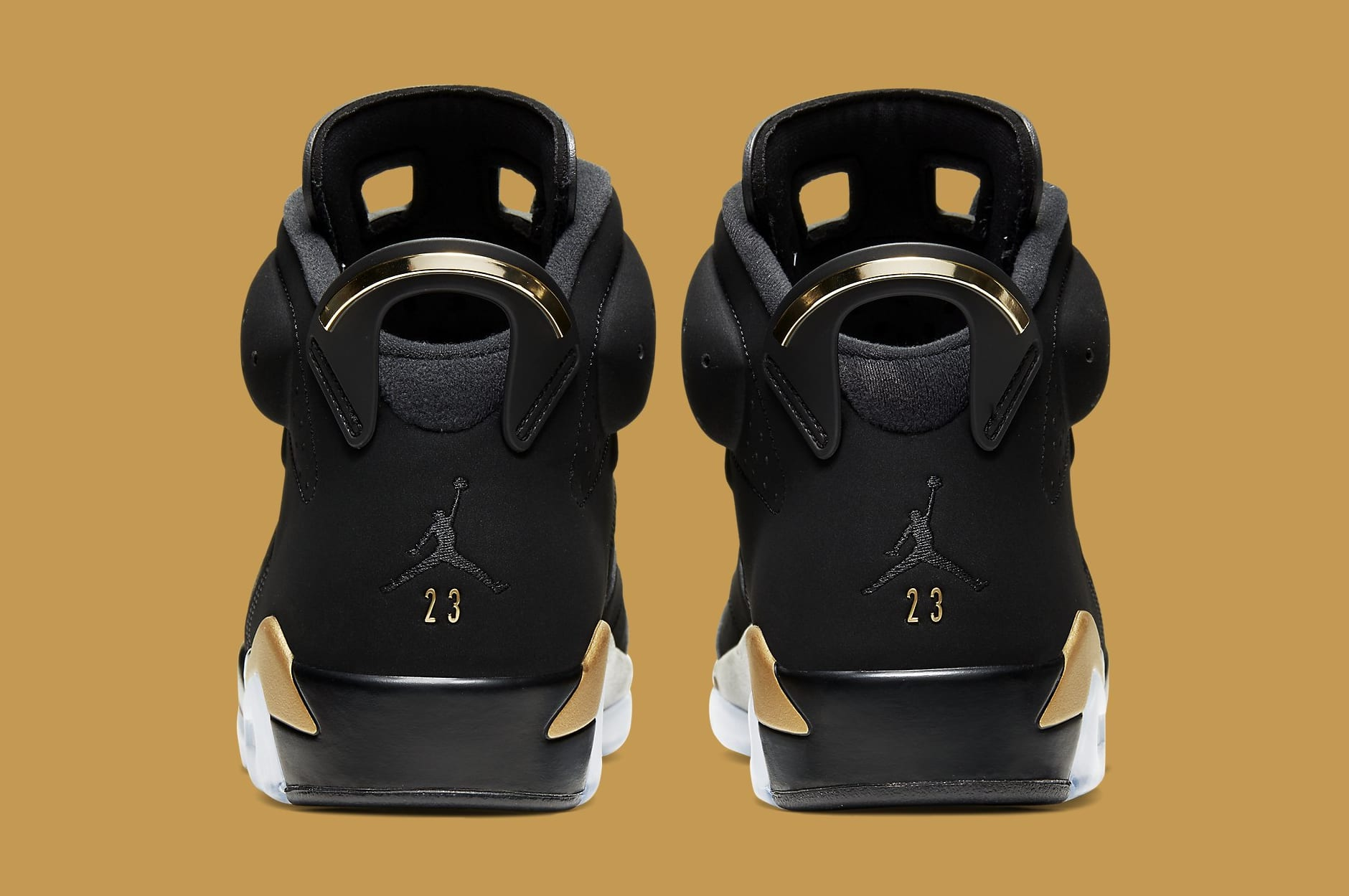 Air Jordan 6 VI Retro 'DMP' CT4954-007 Heel