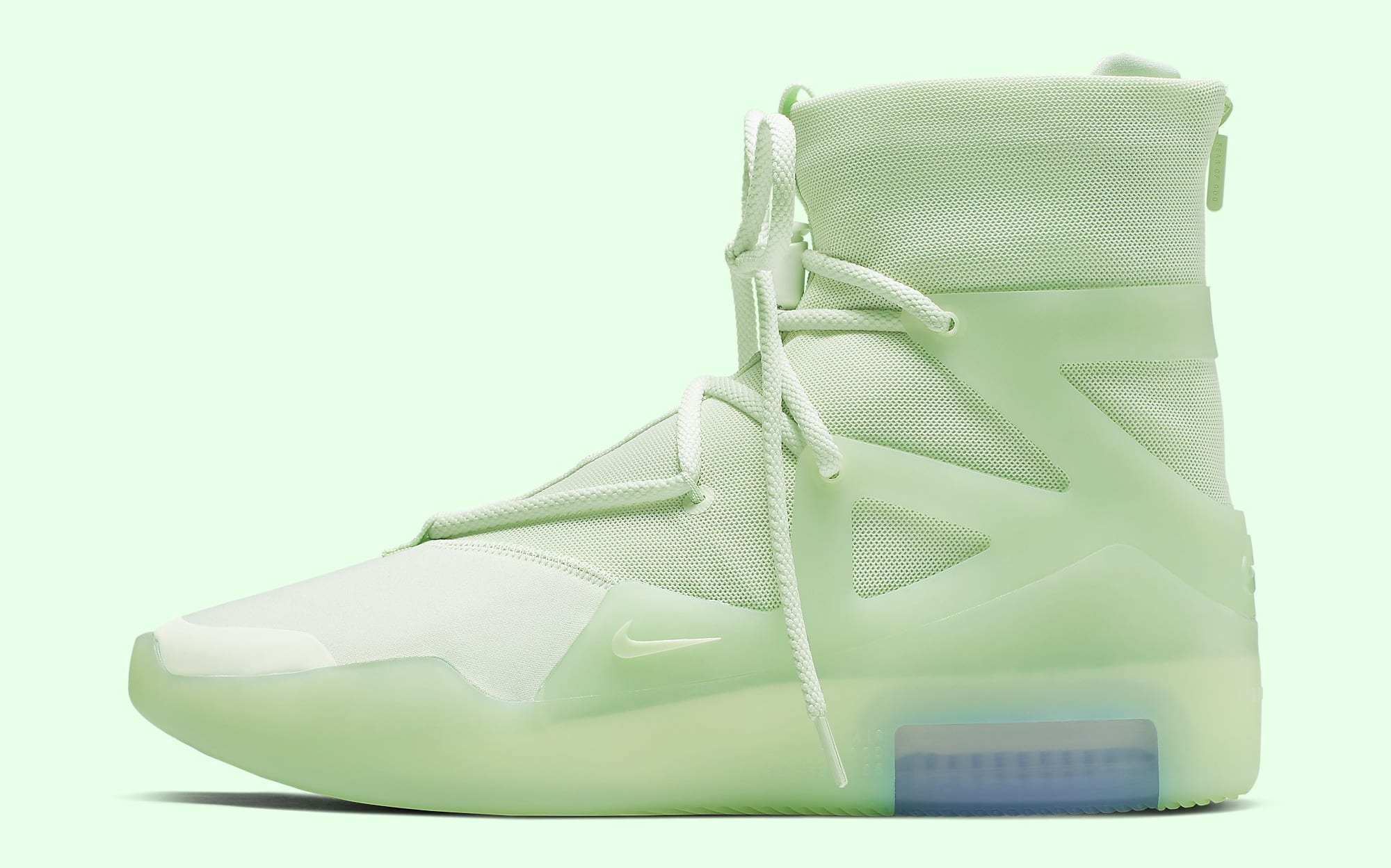 Nike Air Fear of God 1 'Frosted Spruce' AR4237-300 Lateral