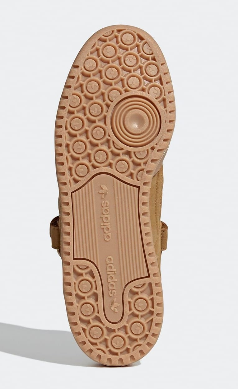 Atmos x Adidas Forum Low 'Wheat' GX3953 Outsole