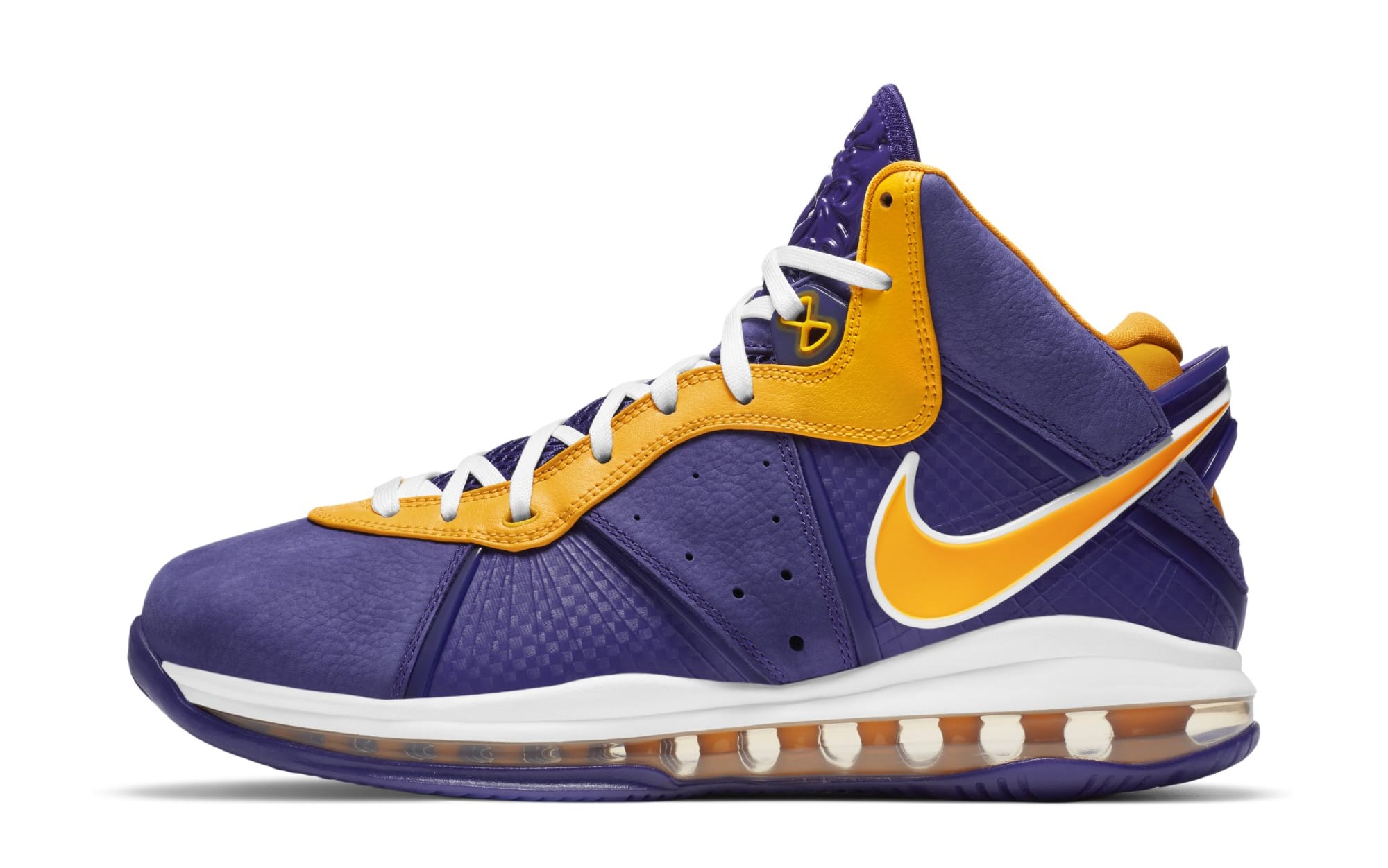 Nike LeBron 8 'Lakers' DC8380-500 (Lateral)