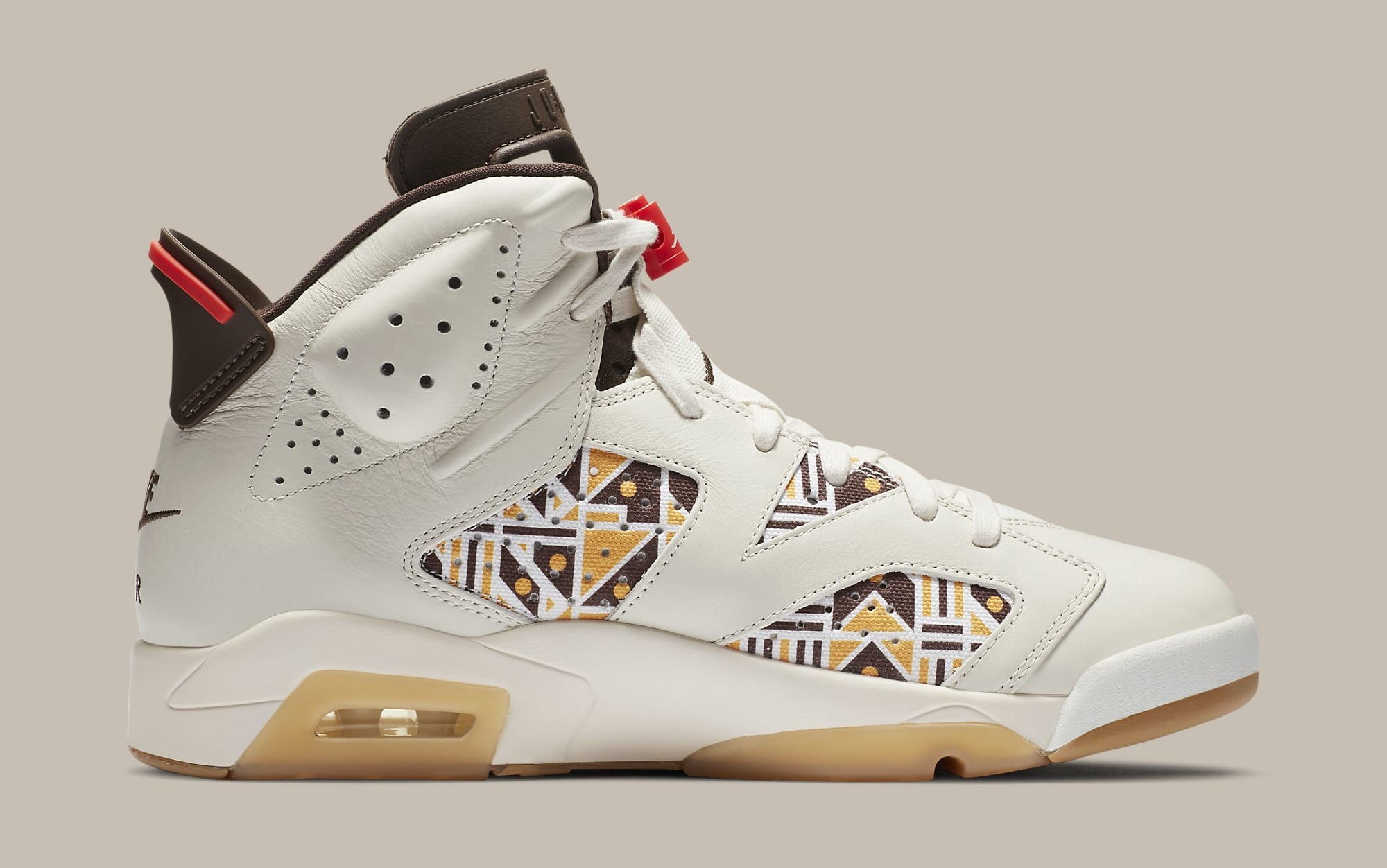 Air Jordan 6 Retro 'Quai 54' CZ4152-100 Medial
