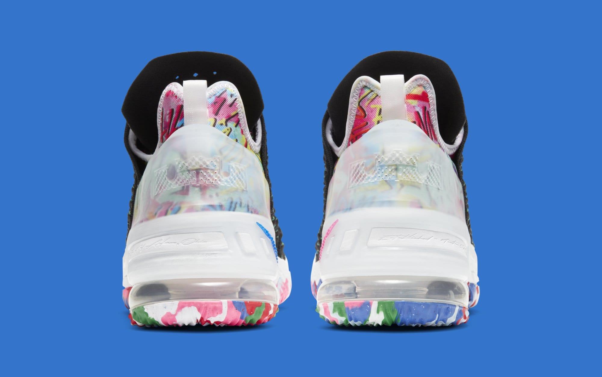 Nike LeBron 18 XVIII 'James Gang' CQ9283-002 Heel